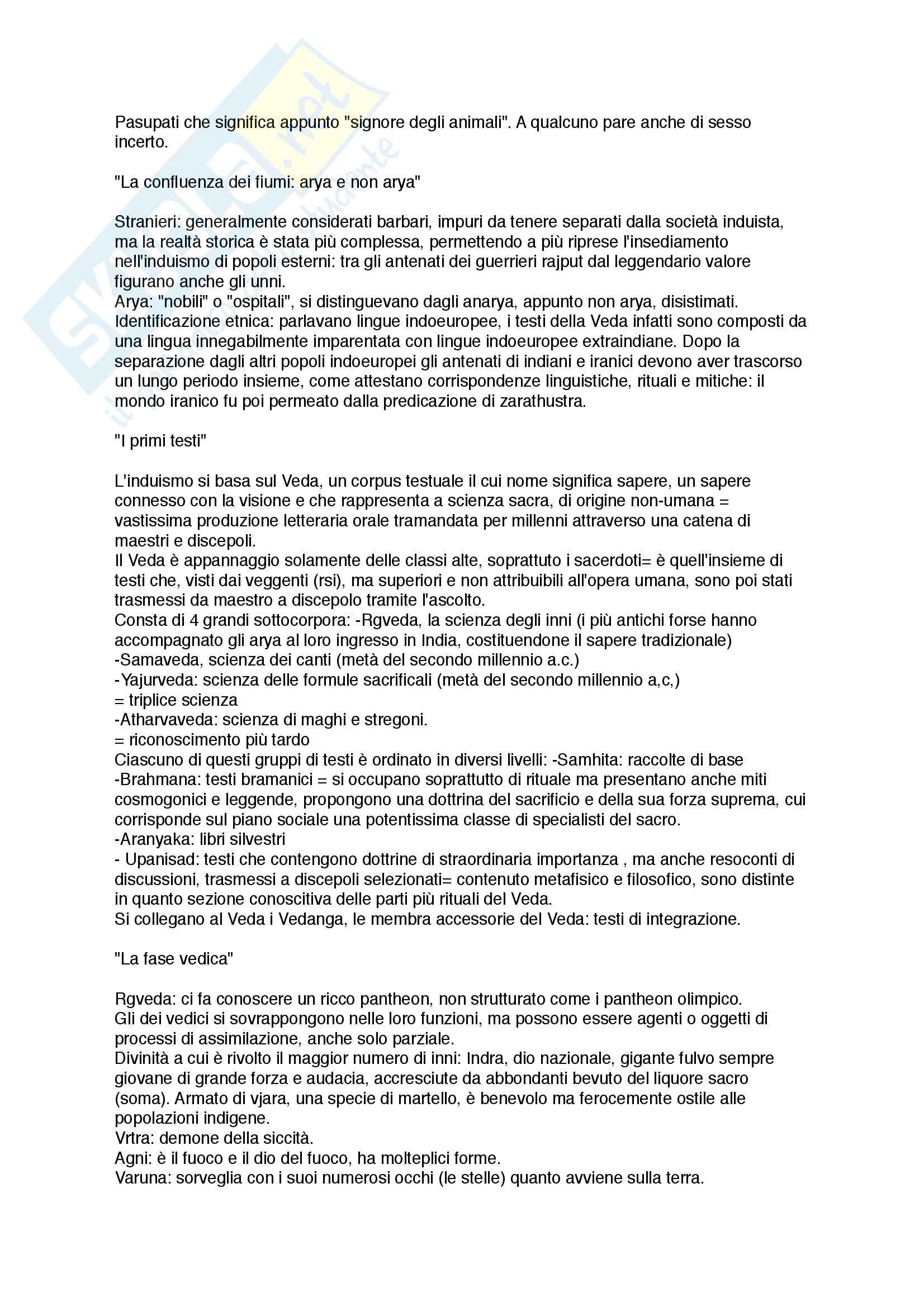 Induismo - Indologia Pag. 2