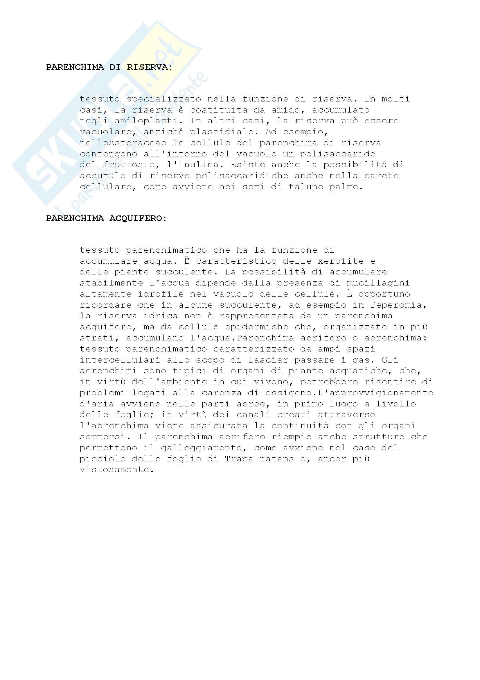 Nomenclatura e concetti generali, Biologia Vegetale Pag. 21