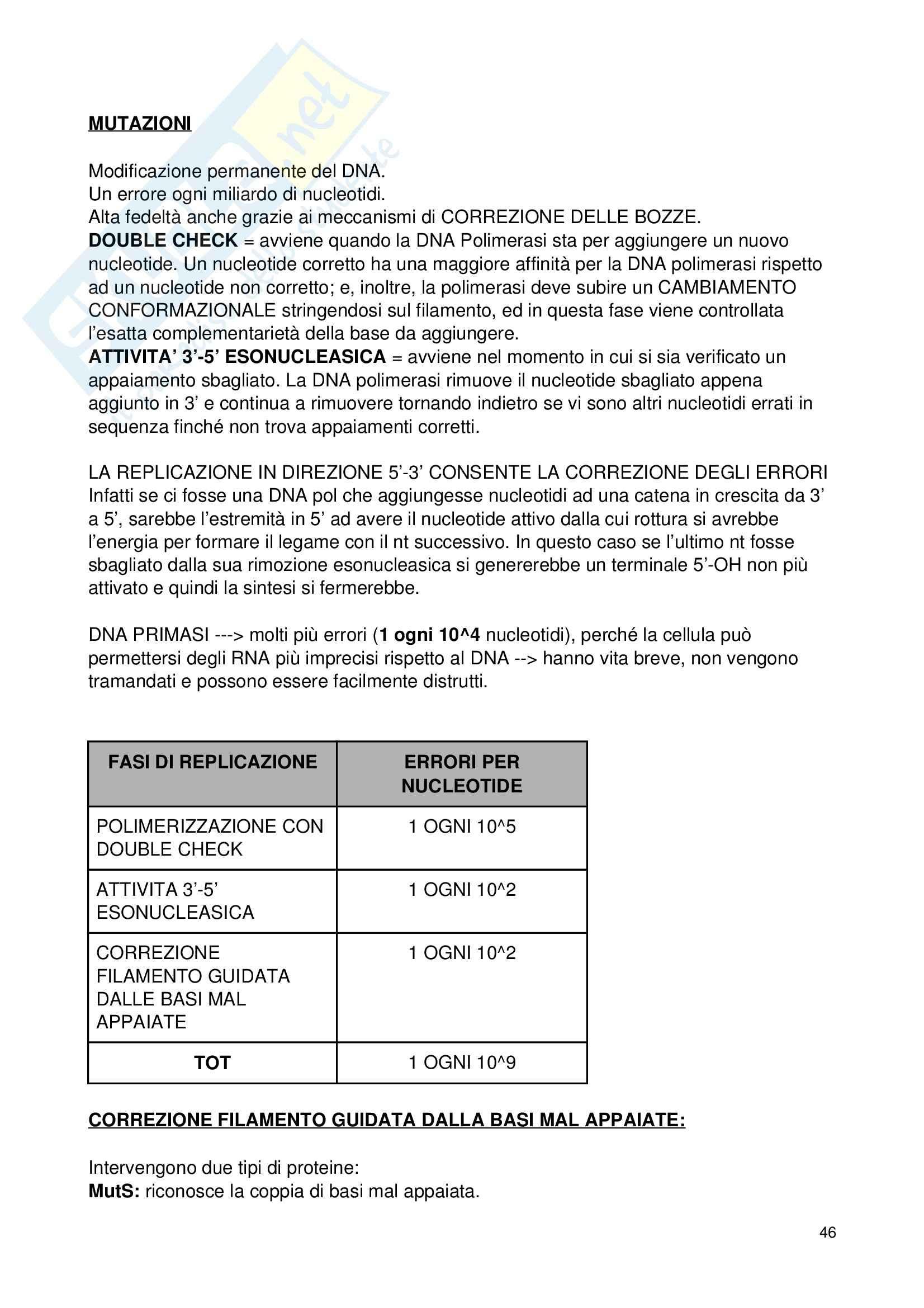 Biologia applicata - Appunti Pag. 46