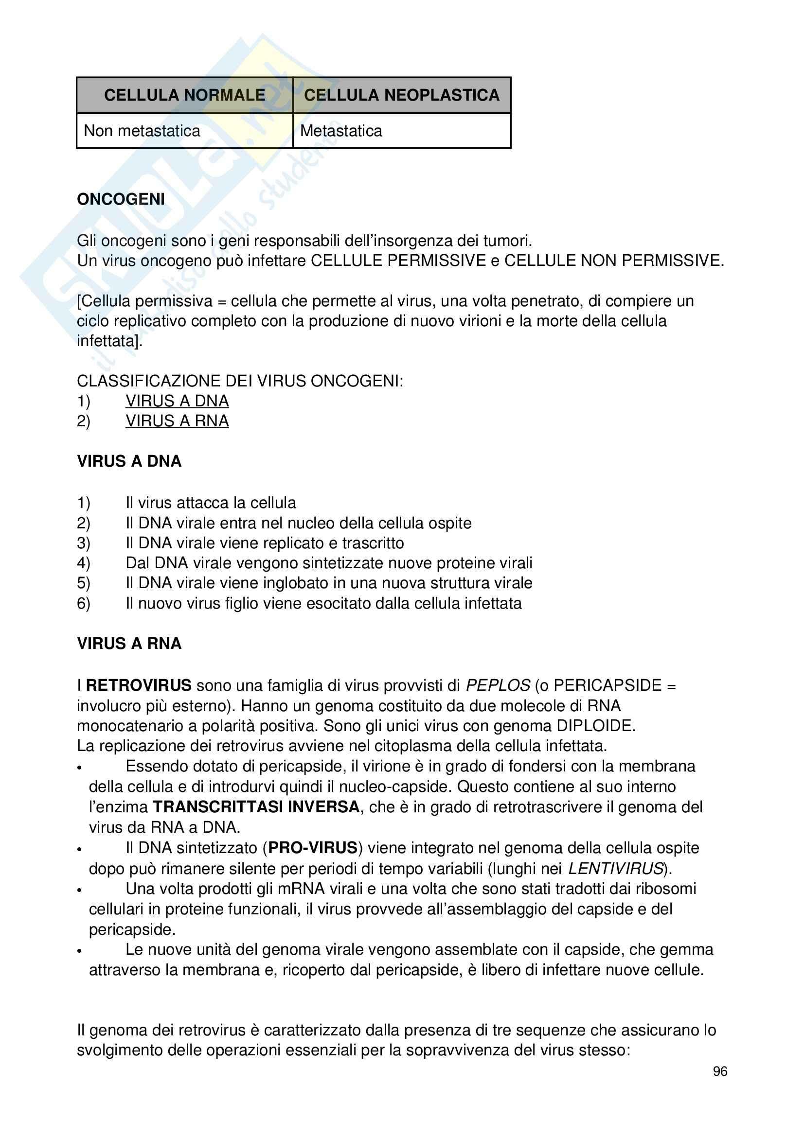 Biologia applicata - Appunti Pag. 96