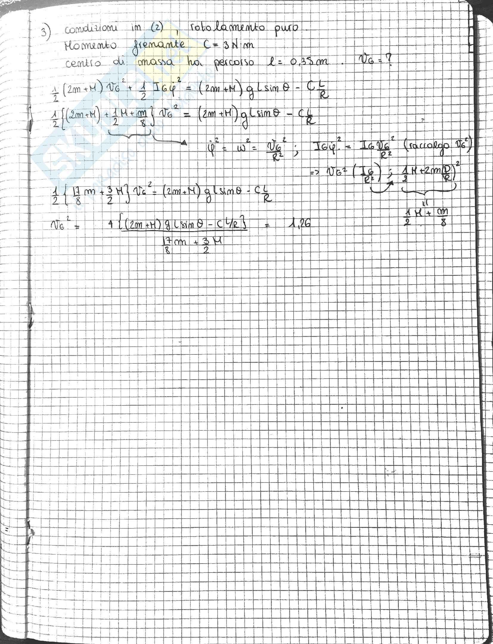 Esercizi ed esami svolti Fisica 1 Pag. 16