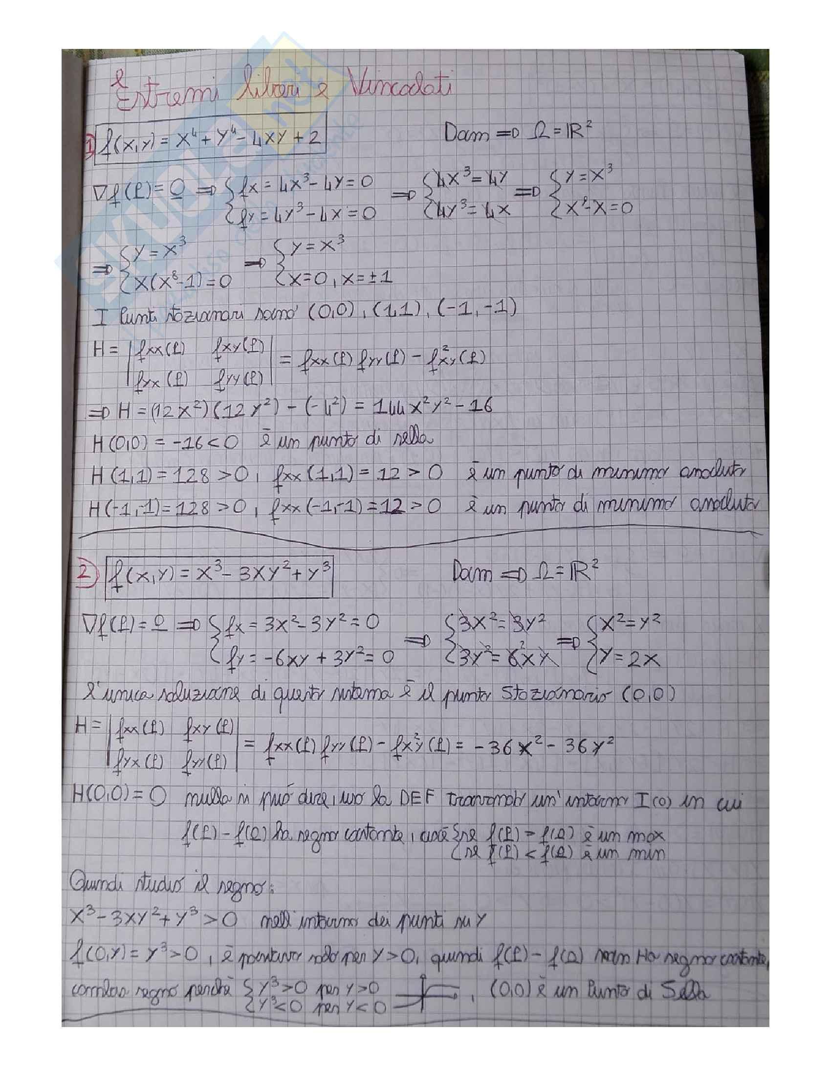 Analisi matematica 2 centinaia di esercizi svolti
