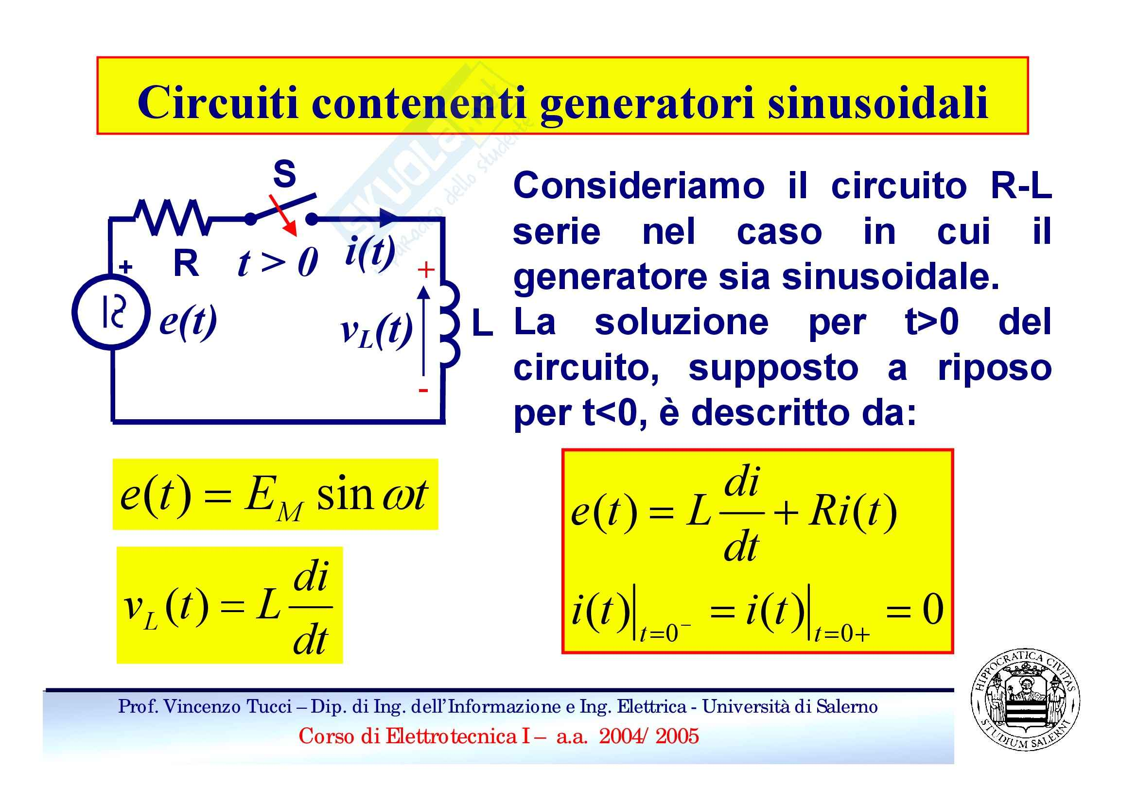 Regime sinusoidale Pag. 6