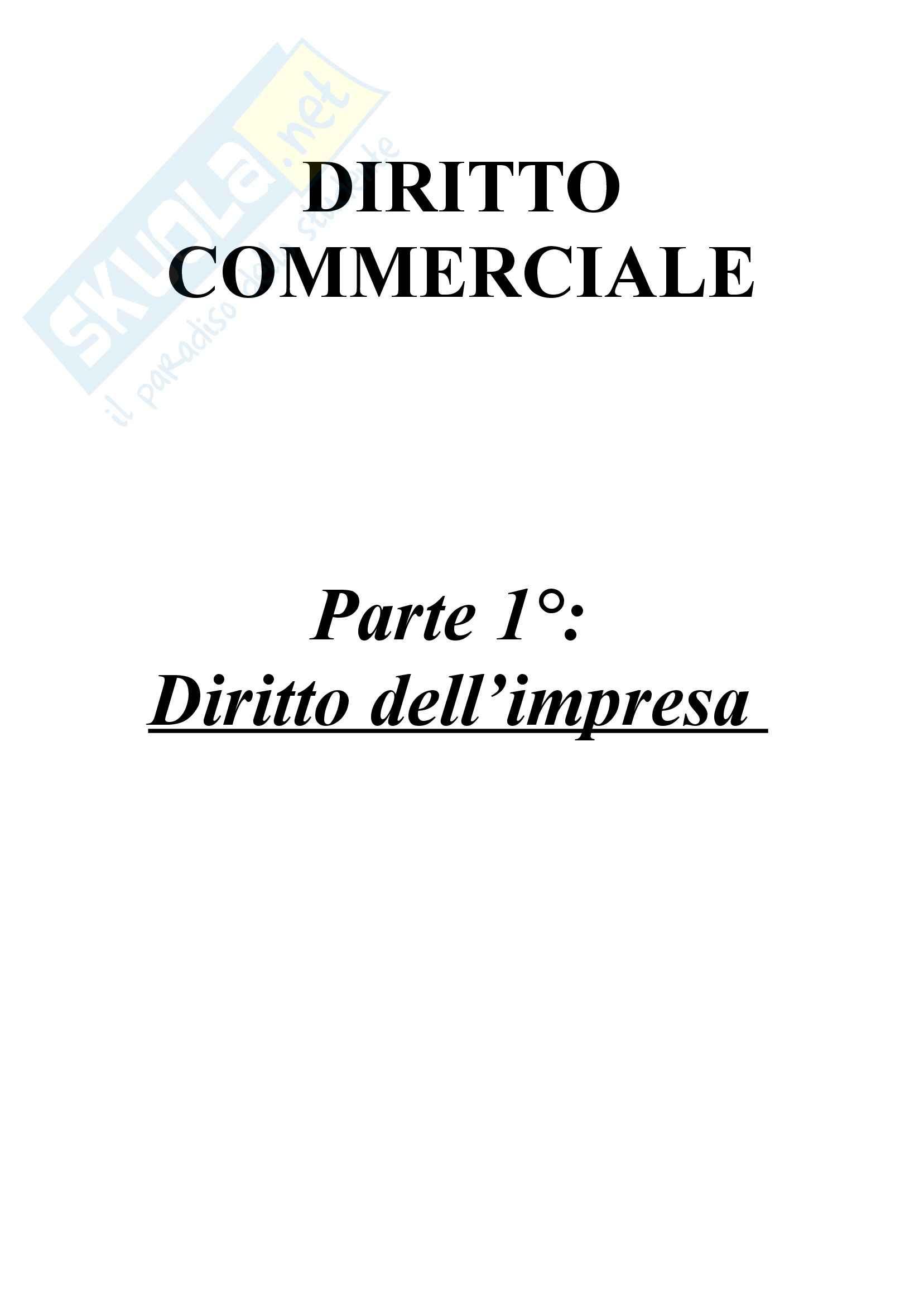 Diritto commerciale - imprenditore
