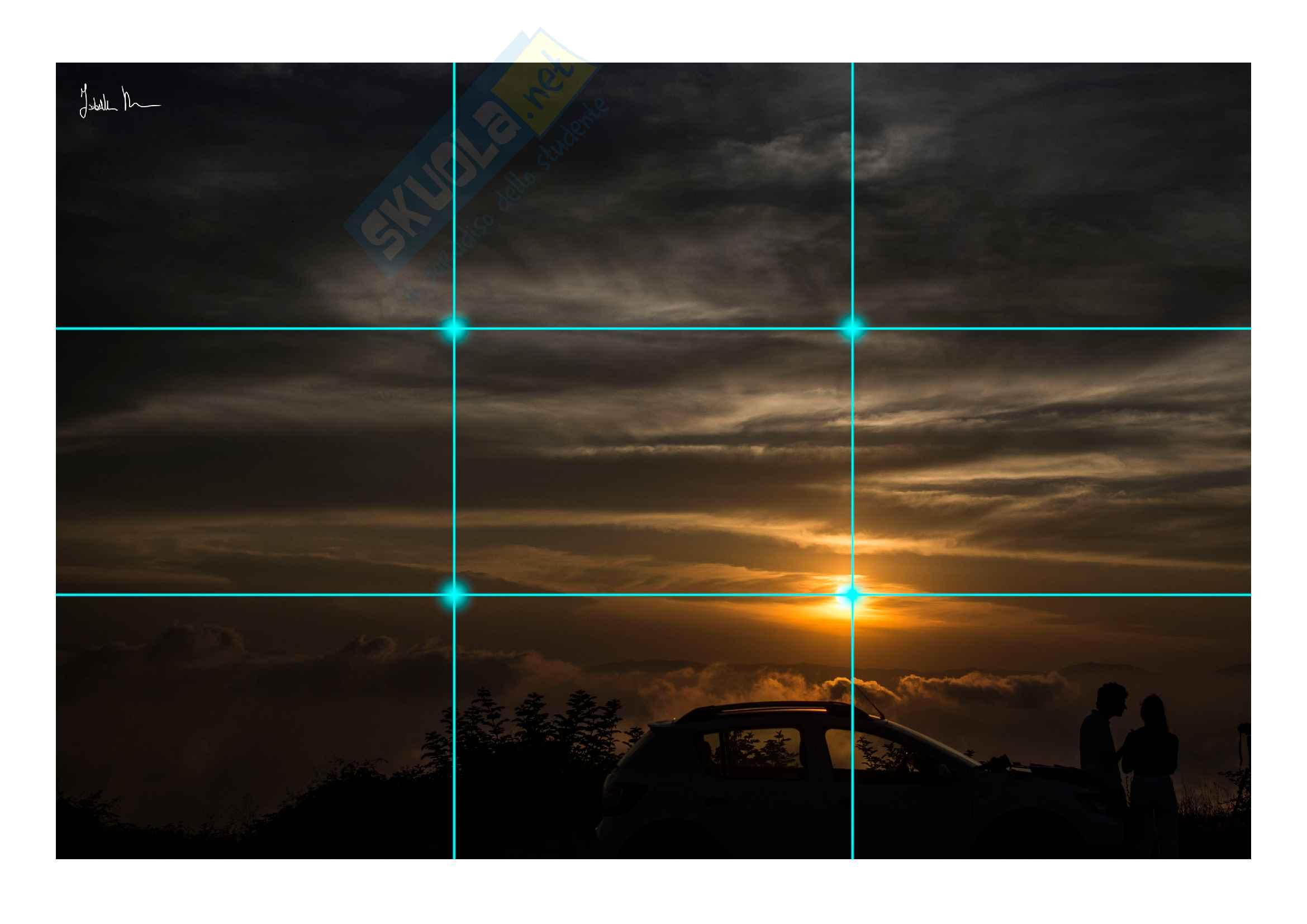 Tecniche compositive fotografiche, esame di fotografia di digital humanities Pag. 6