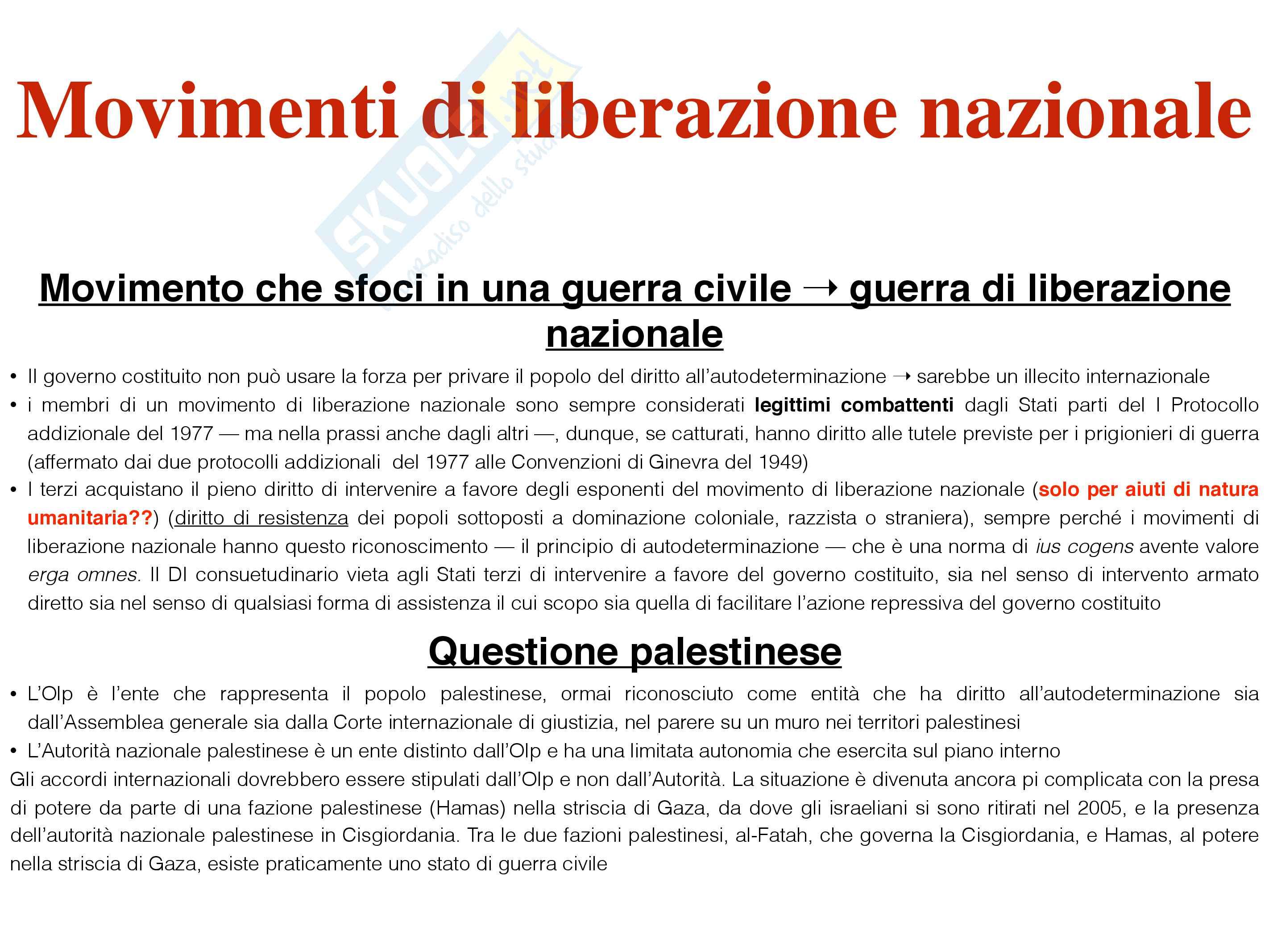 Schemi di Diritto internazionale (2015) - prof. Sciso E. Pag. 16