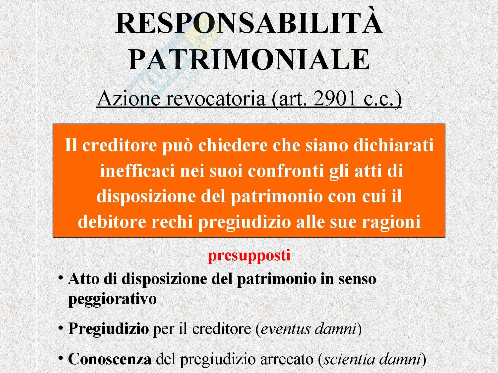 Diritto privato - le obbligazioni Pag. 56