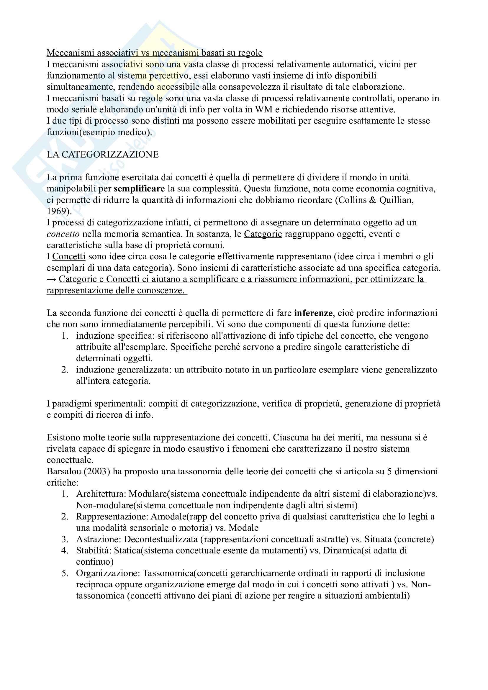 Psicologia del Pensiero - prof. Galfano Pag. 2
