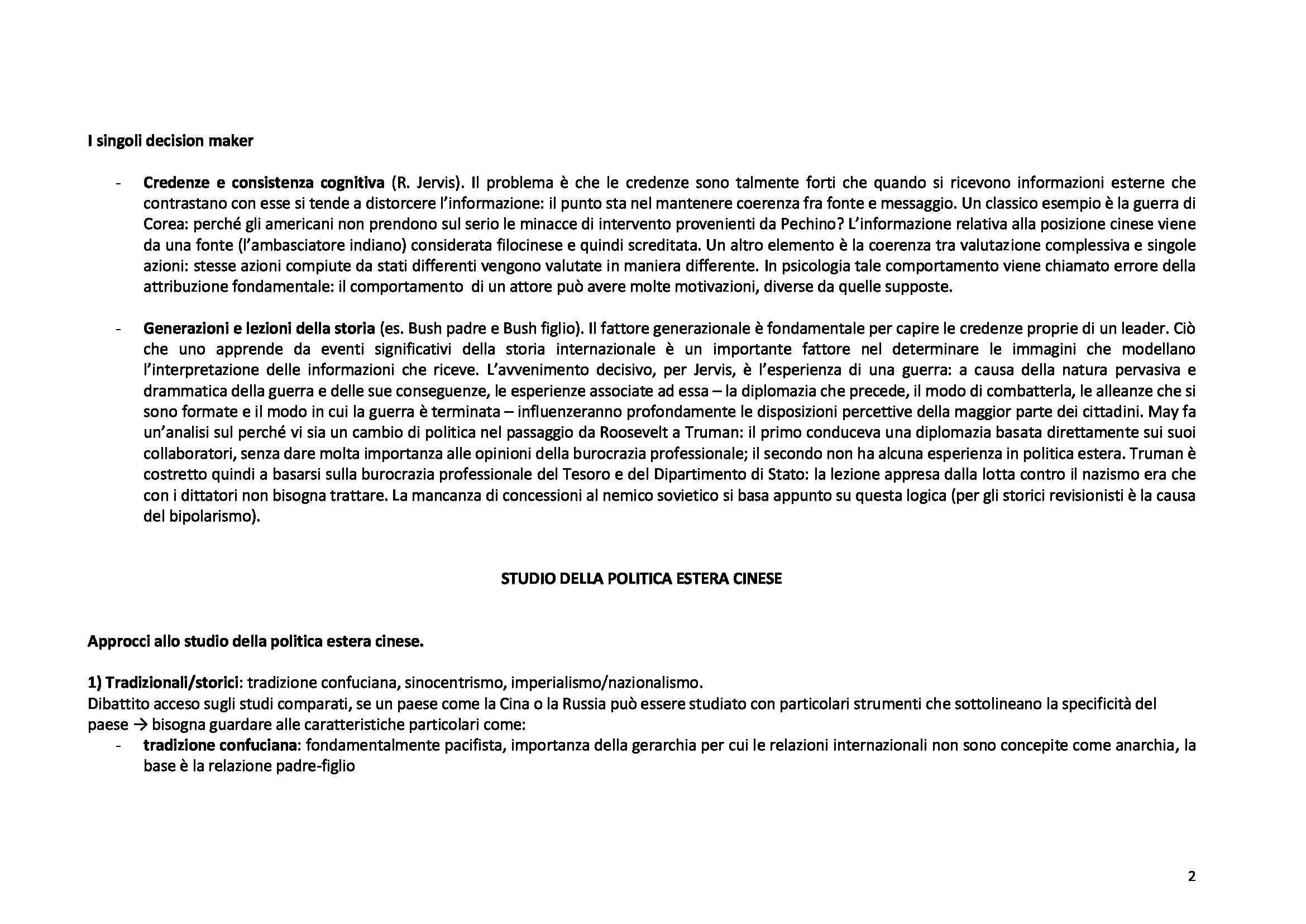Sociologia delle relazioni internazionali - Appunti Pag. 2