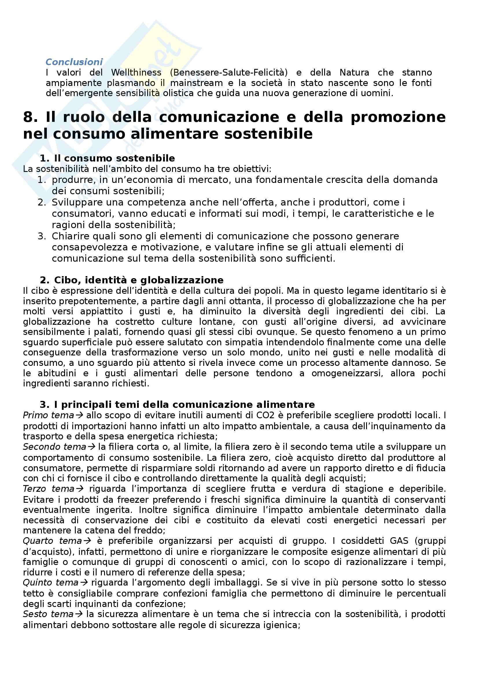 Riassunto esame Psicologia dei consumi, prof. Russo, libro consigliato Consumo critico, alimentazione e comunicazione Pag. 21