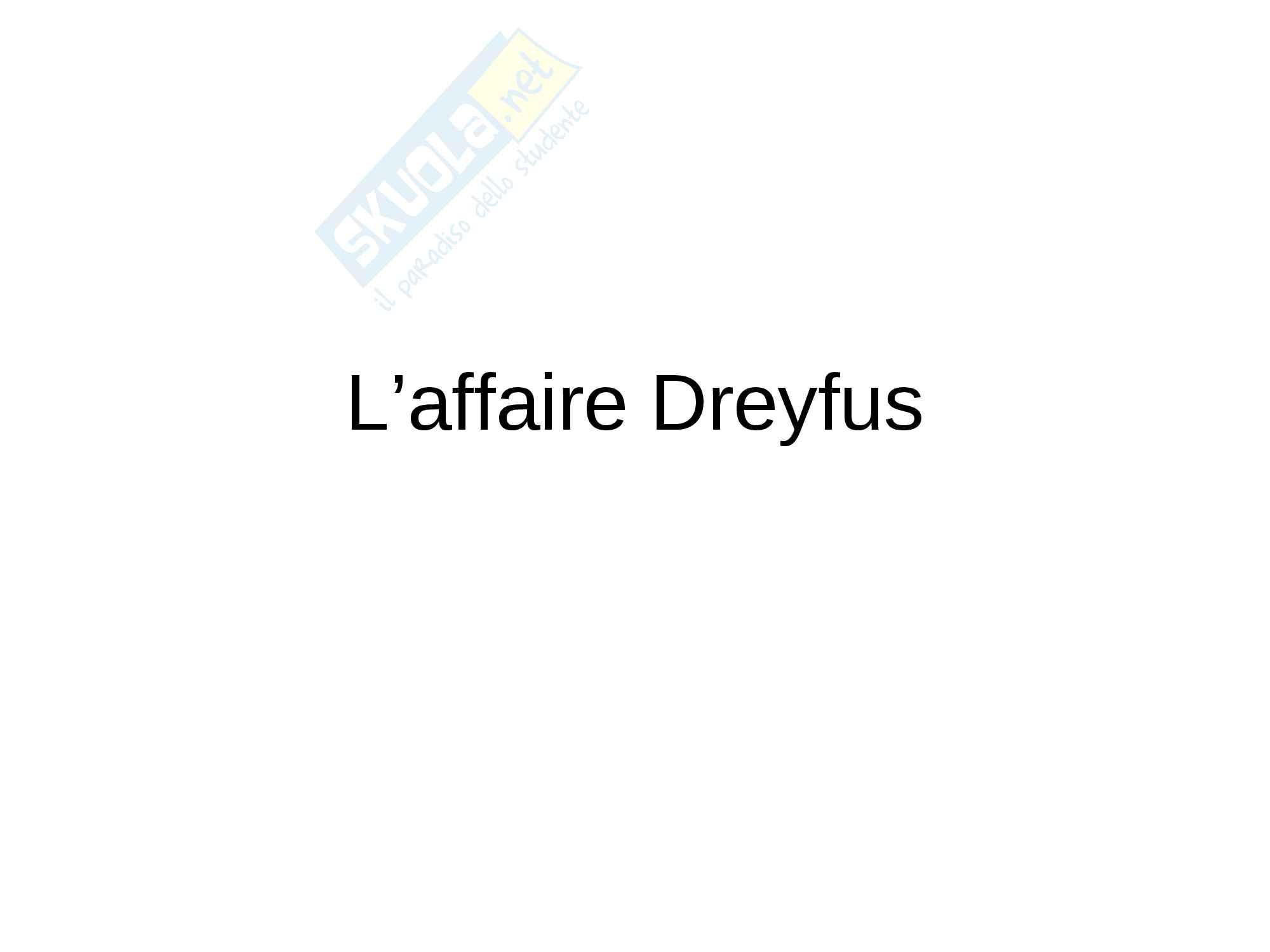 Présentation Power Point de l'affaire Dreyfus
