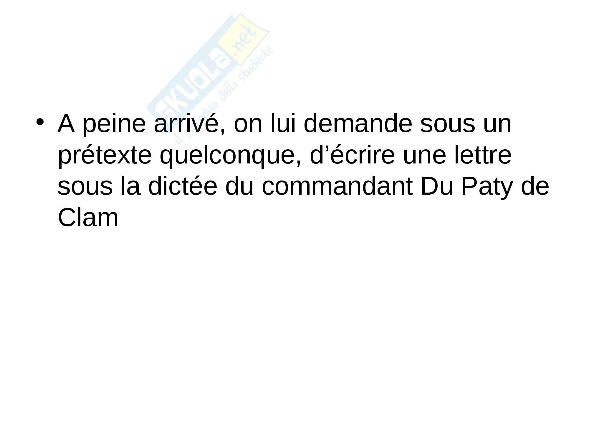 Présentation Power Point de l'affaire Dreyfus Pag. 6