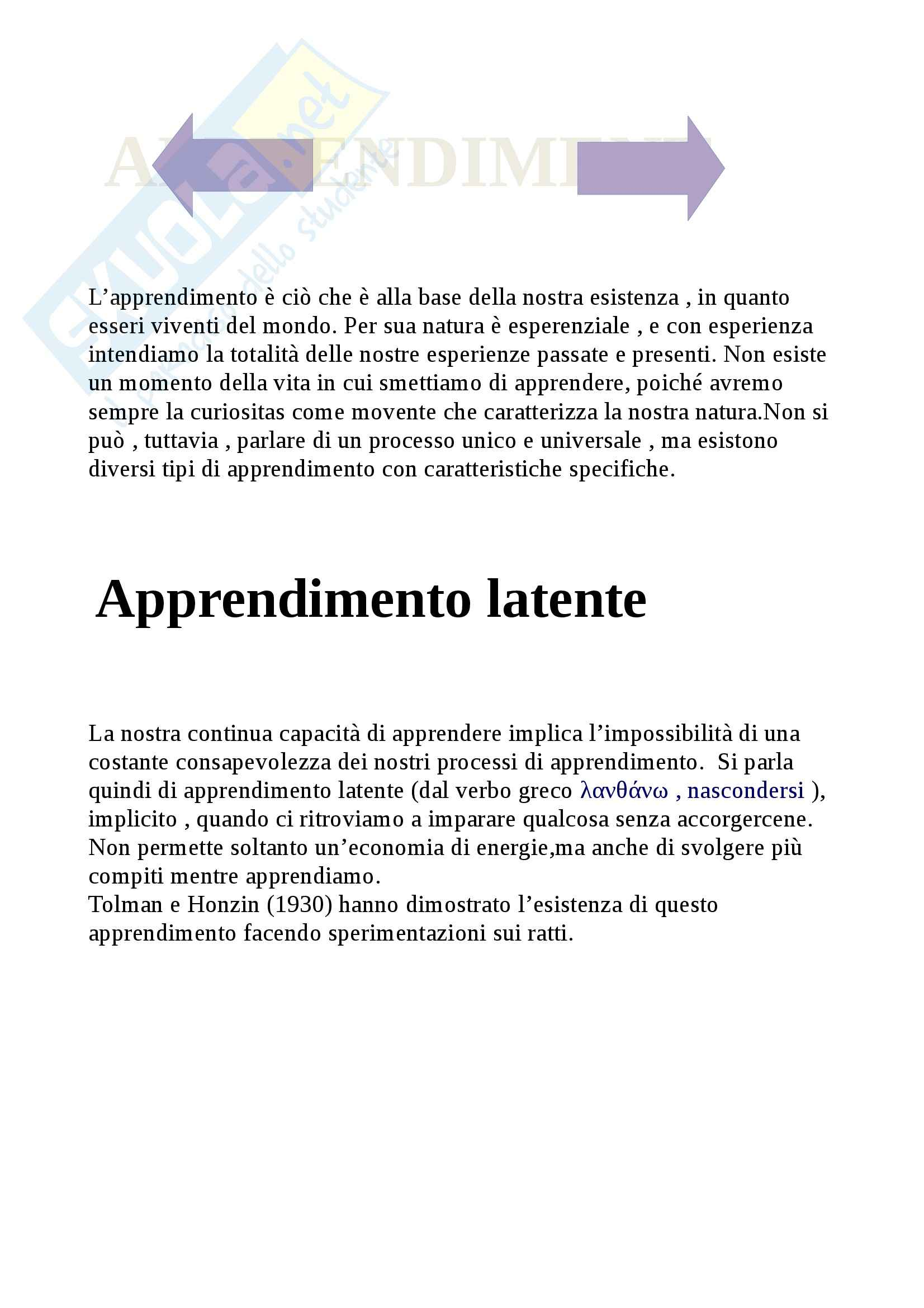 appunto M. De Caro Psicologia