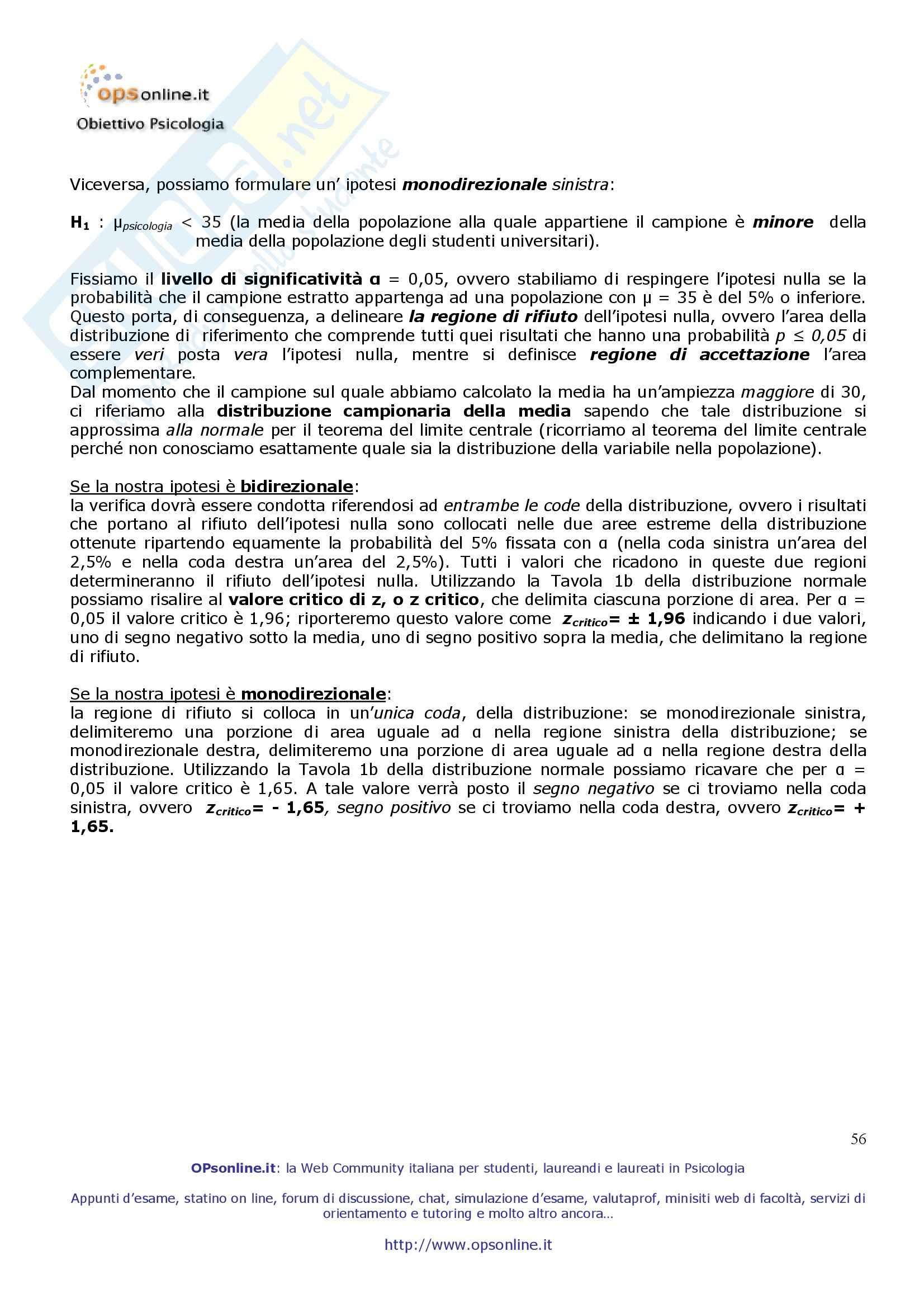 Psicometria - Appunti Pag. 56