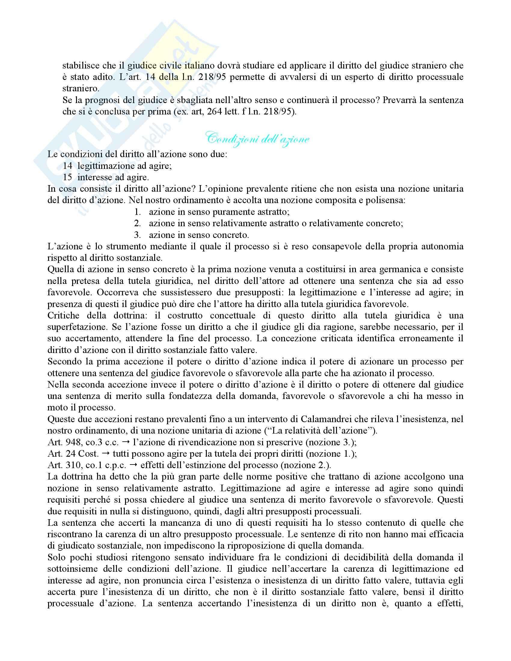 diritto processuale civile - procedura civile Pag. 21