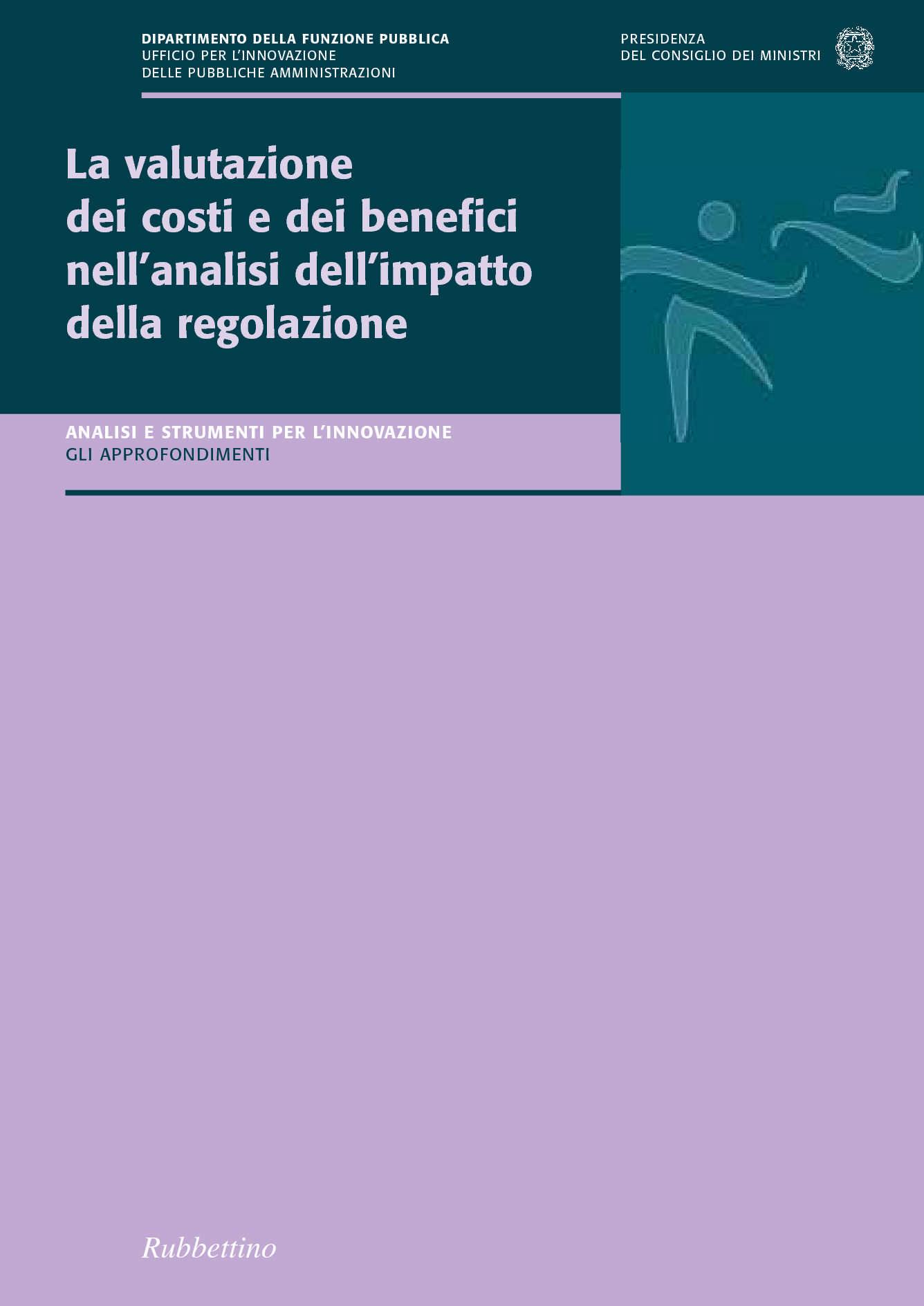 Valutazione dei costi e dei benefici nell'analisi dell'impatto della regolazione
