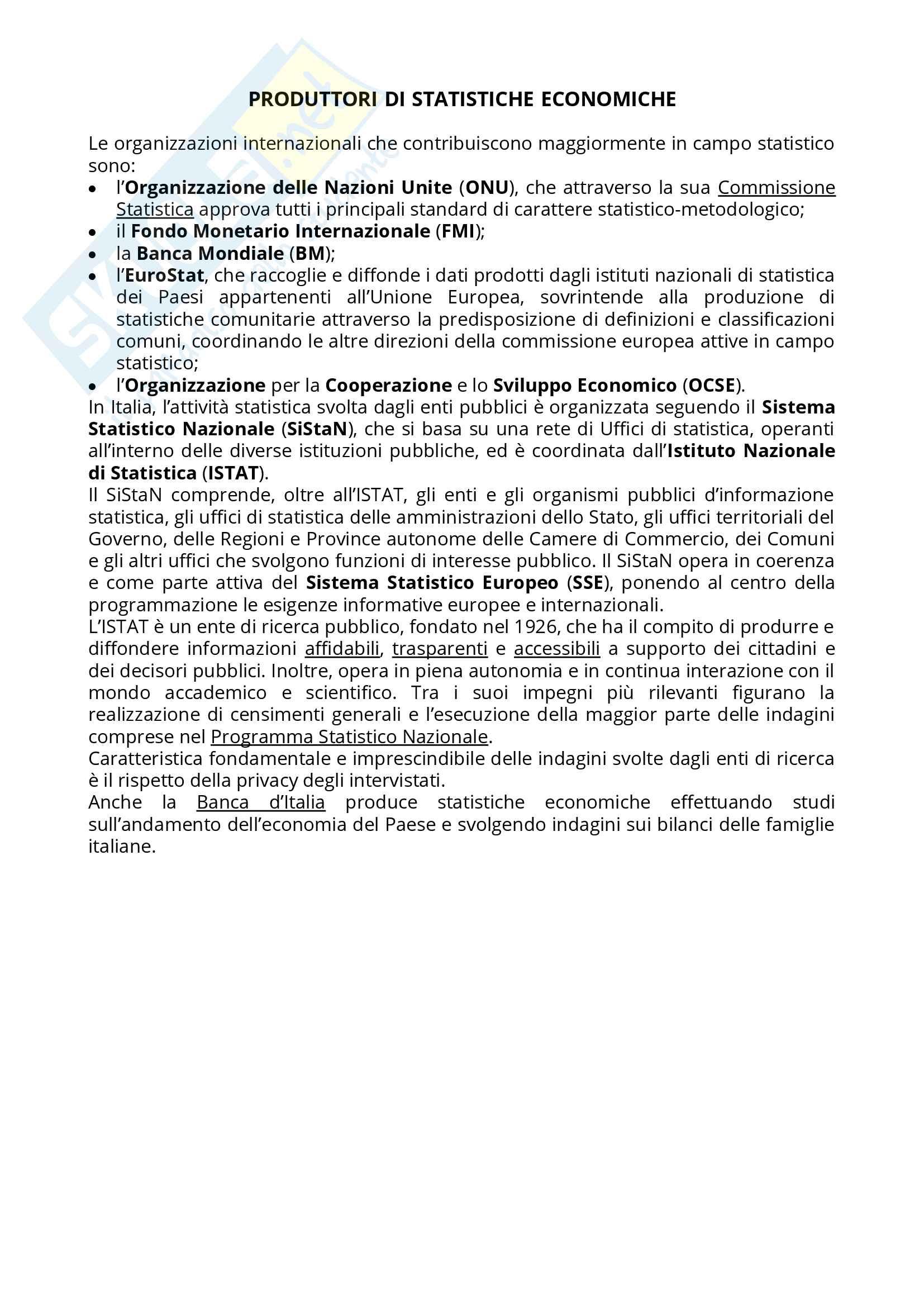 Appunti Statistica Economica Pag. 2