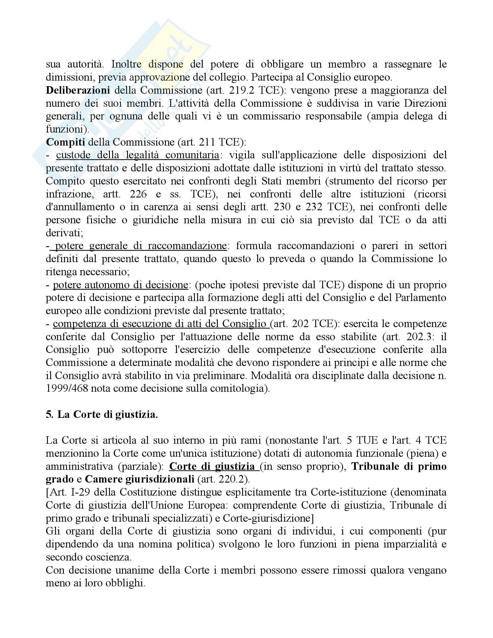 Riassunto esame Diritto, prof. Daniele, libro consigliato Diritto dell'Unione Europea Pag. 16