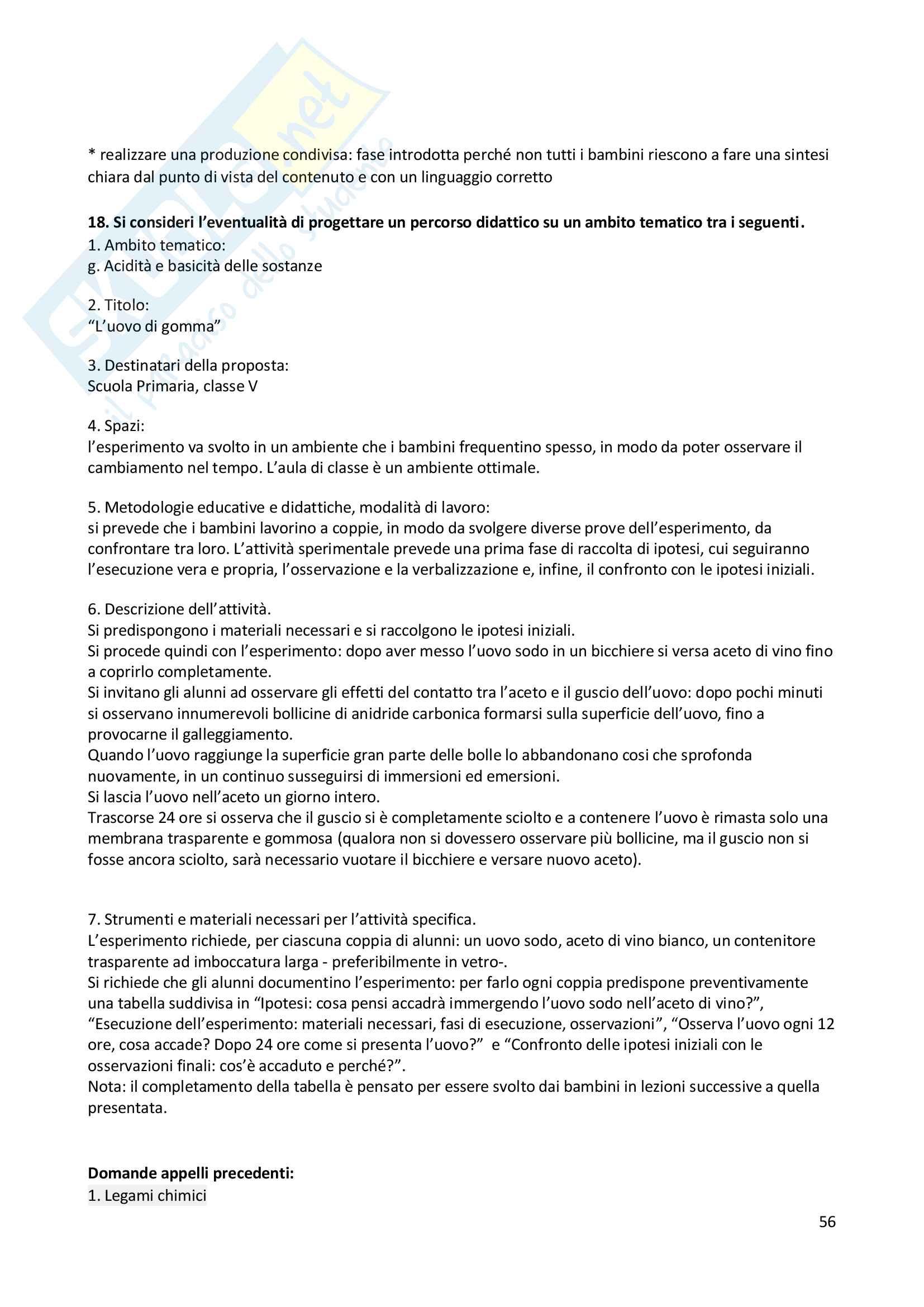 Elementi base di chimica Pag. 56
