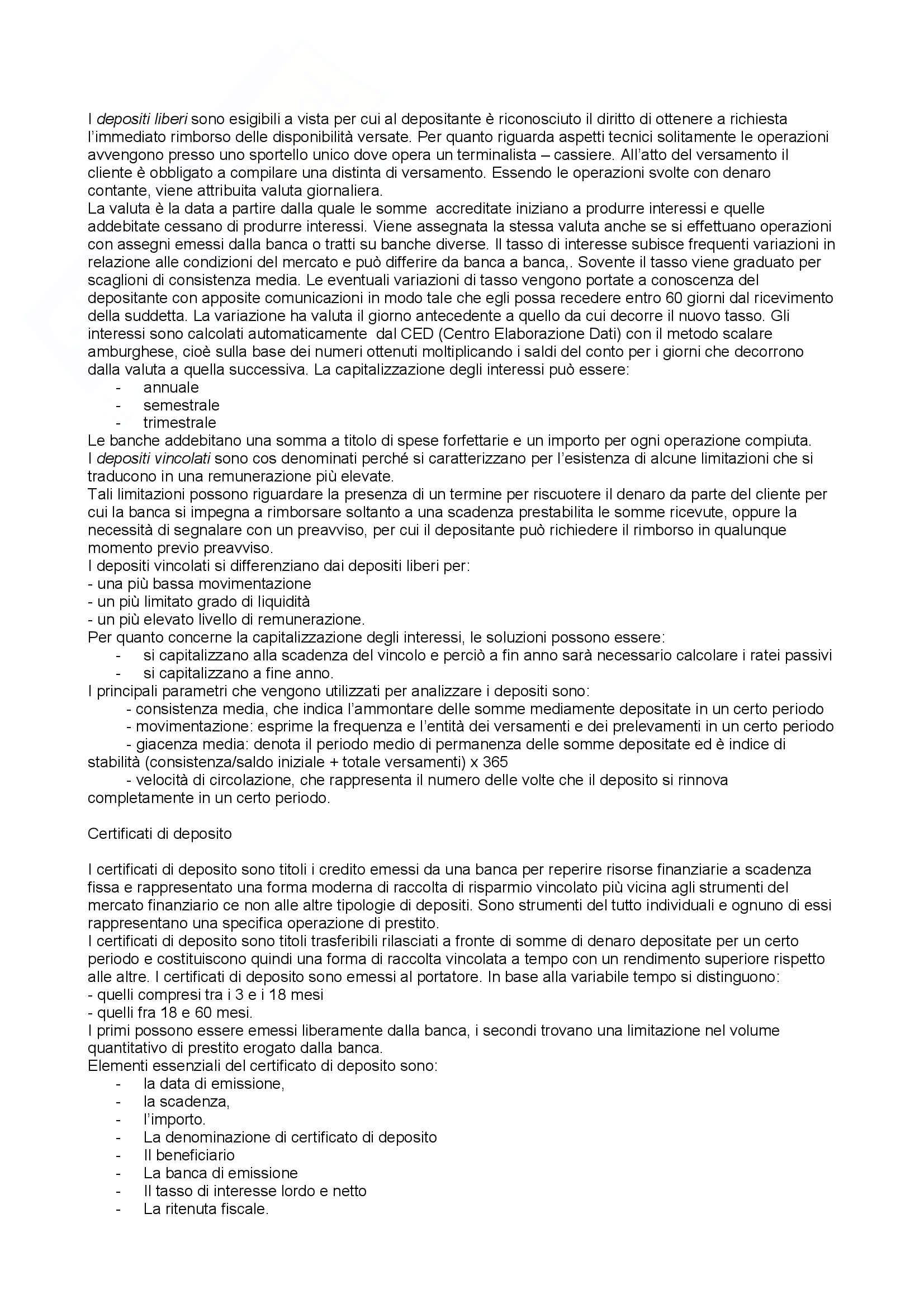 Sunto Economia degli Intermediari Finanziari Pag. 36