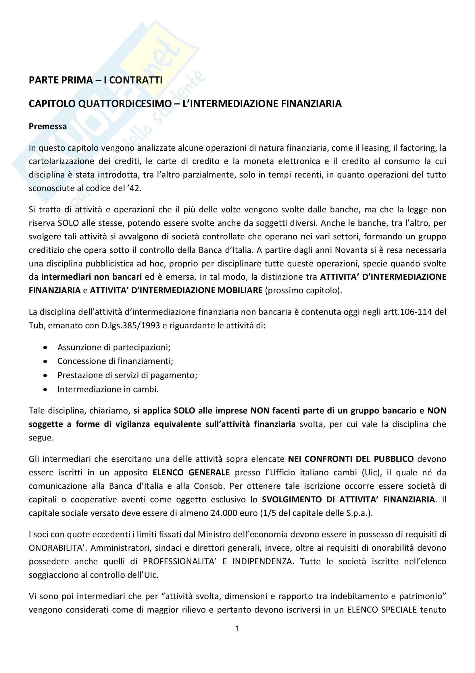 Riassunto esame Diritto Commerciale, prof. Griffi, libro consigliato Campobasso
