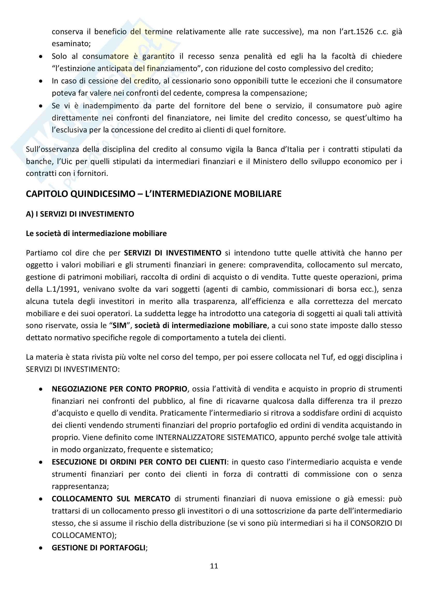 Riassunto esame Diritto Commerciale, prof. Griffi, libro consigliato Campobasso Pag. 11