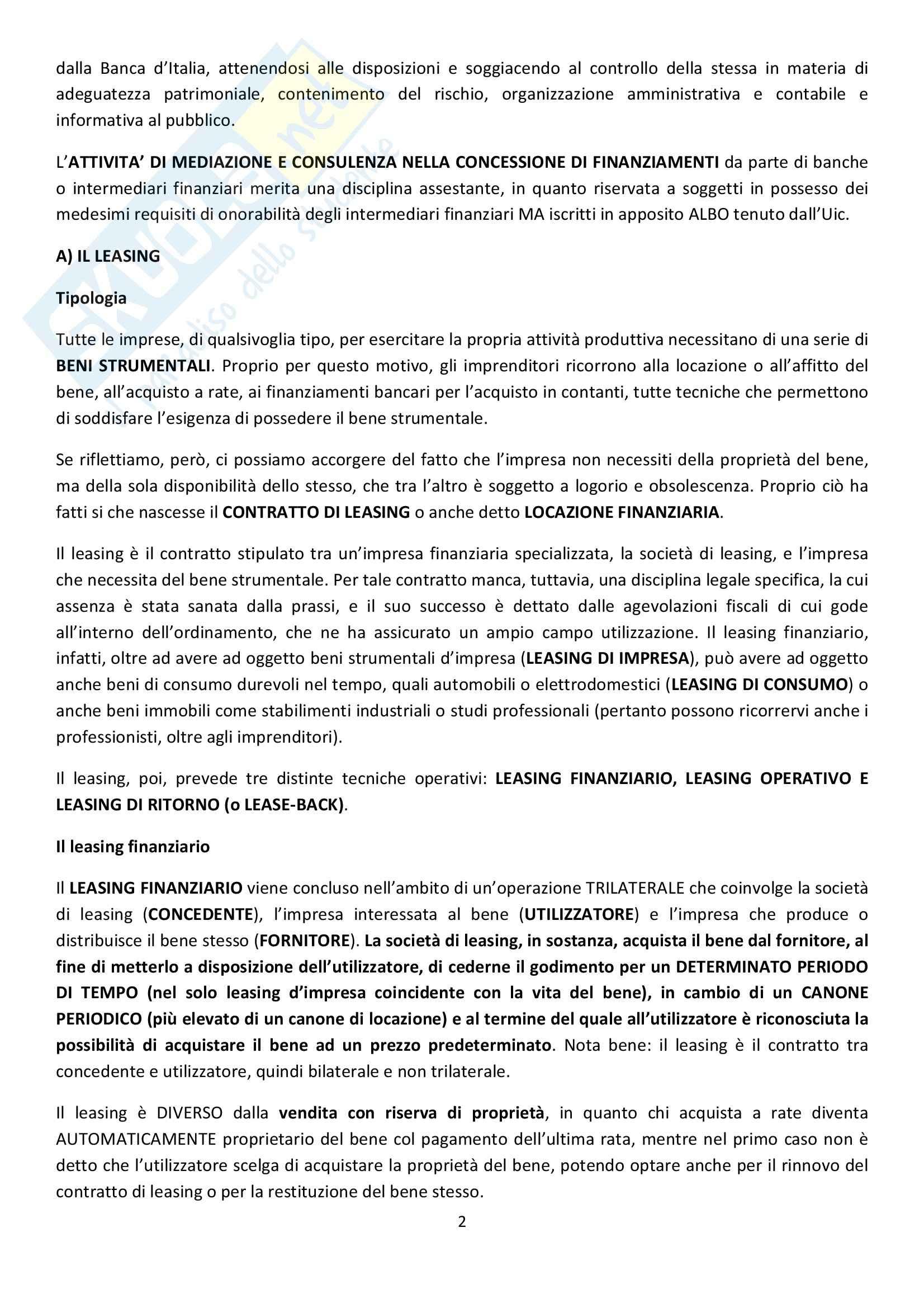 Riassunto esame Diritto Commerciale, prof. Griffi, libro consigliato Campobasso Pag. 2