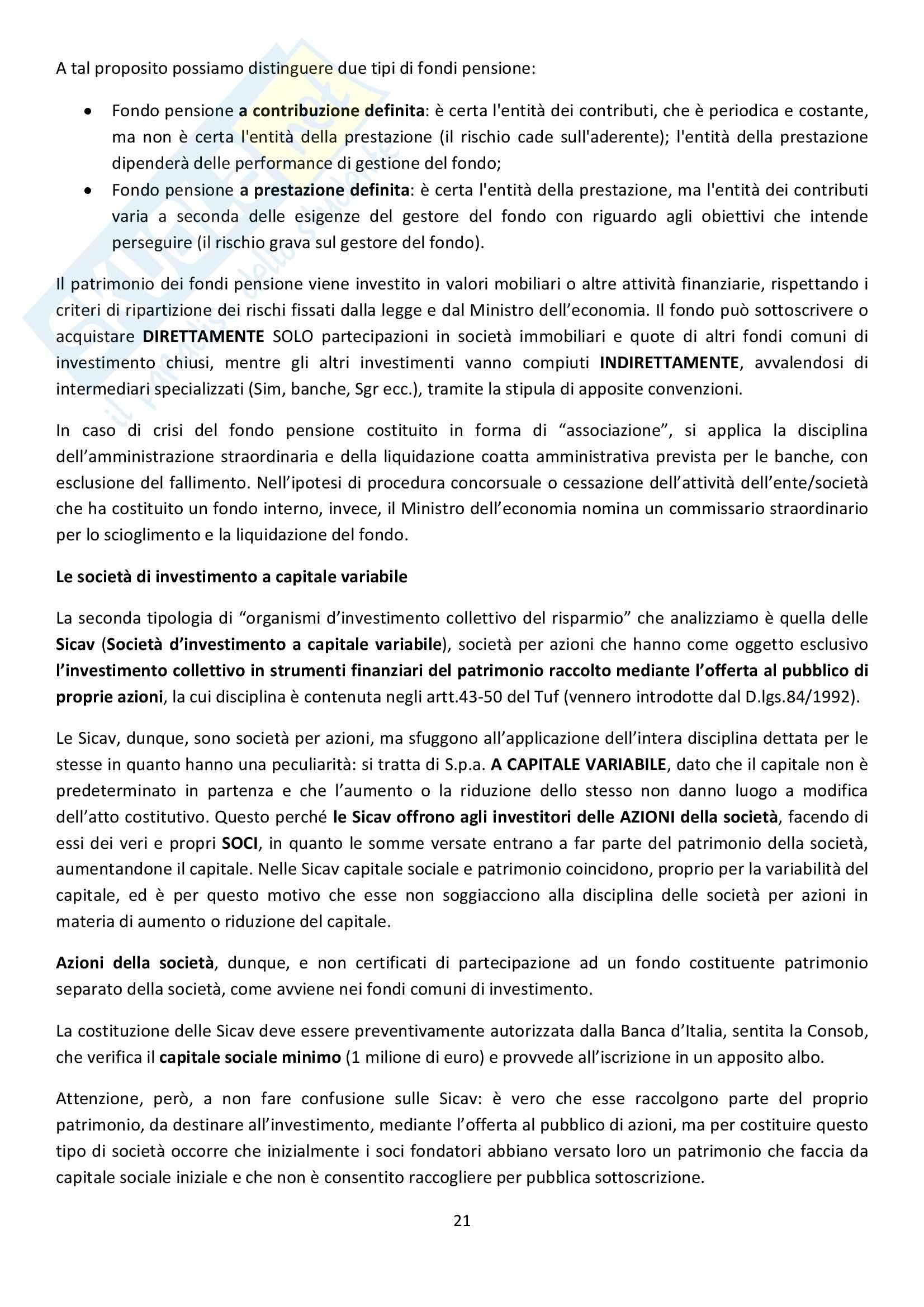 Riassunto esame Diritto Commerciale, prof. Griffi, libro consigliato Campobasso Pag. 21