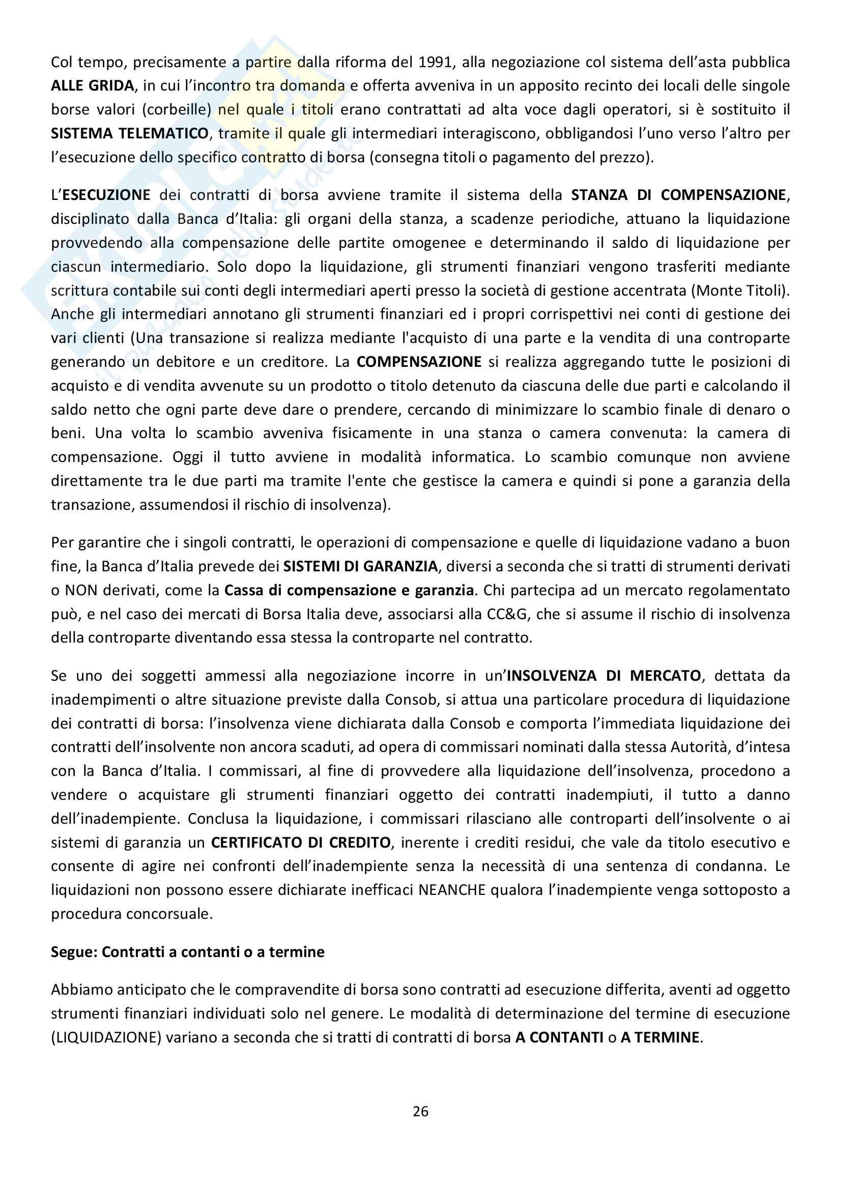 Riassunto esame Diritto Commerciale, prof. Griffi, libro consigliato Campobasso Pag. 26