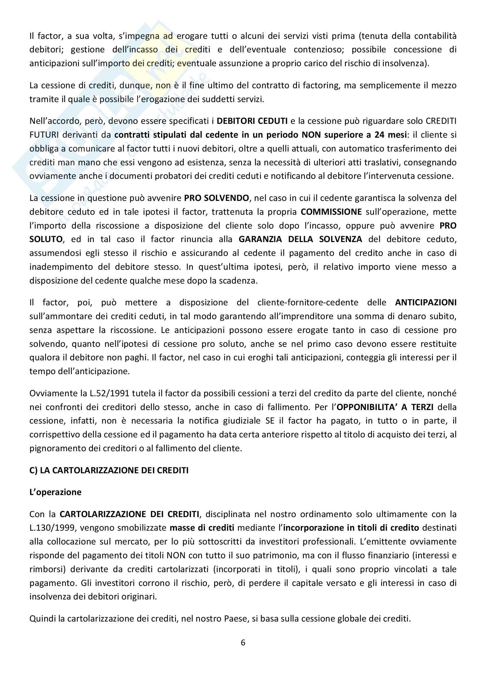 Riassunto esame Diritto Commerciale, prof. Griffi, libro consigliato Campobasso Pag. 6