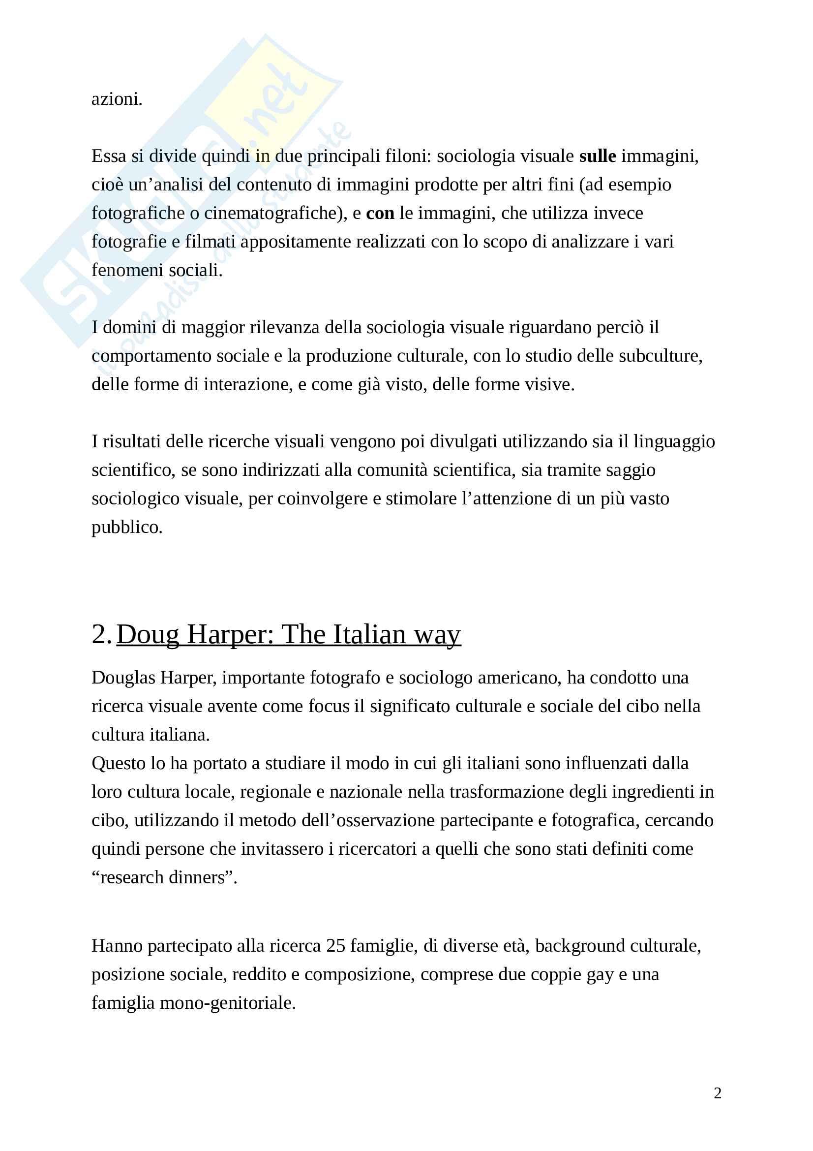Alpini - Sociologia visuale Pag. 2