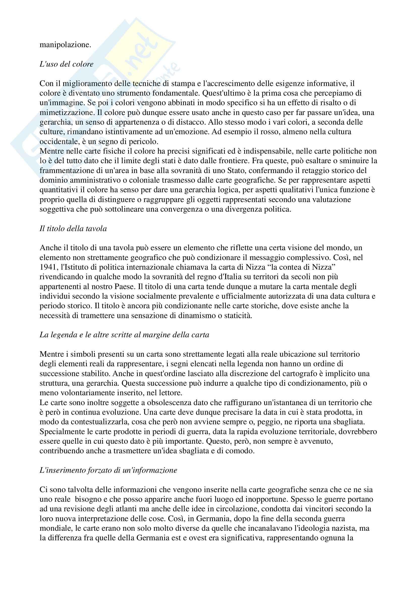 Geografia generale - Riassunto esame, prof. Boria Pag. 21