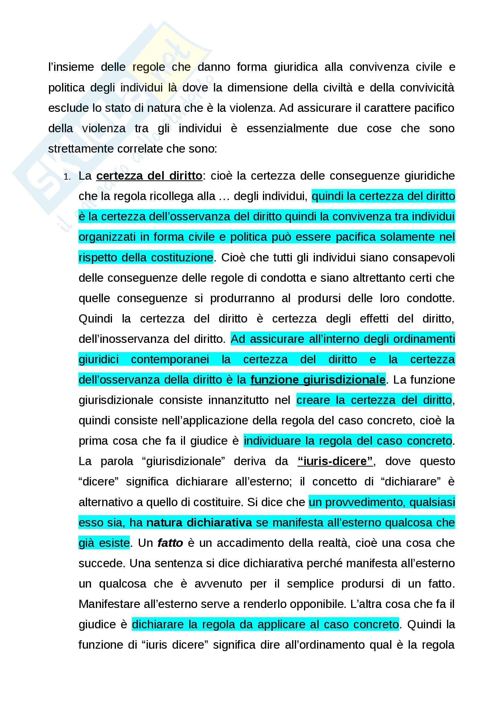 Diritto costituzionale generale Pag. 2