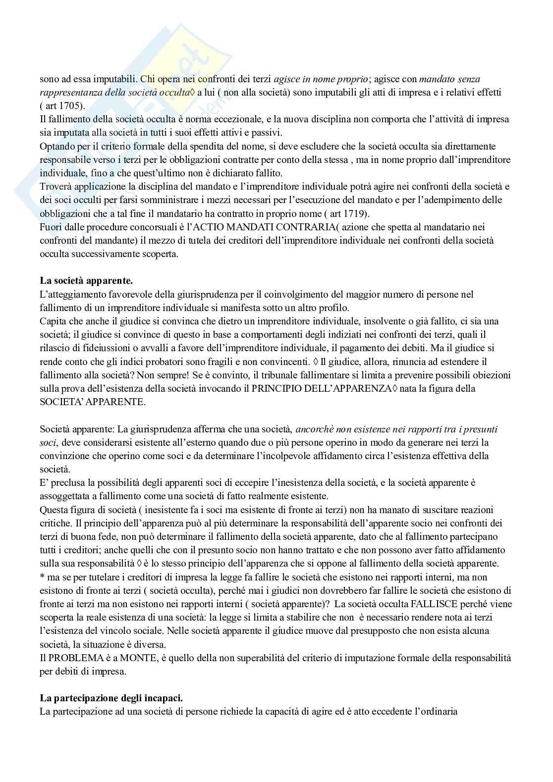 Riassunto Esame Diritto Commerciale, prof. Briolini, libro consigliato Diritto commerciale. Diritto delle società, Campobasso Pag. 21