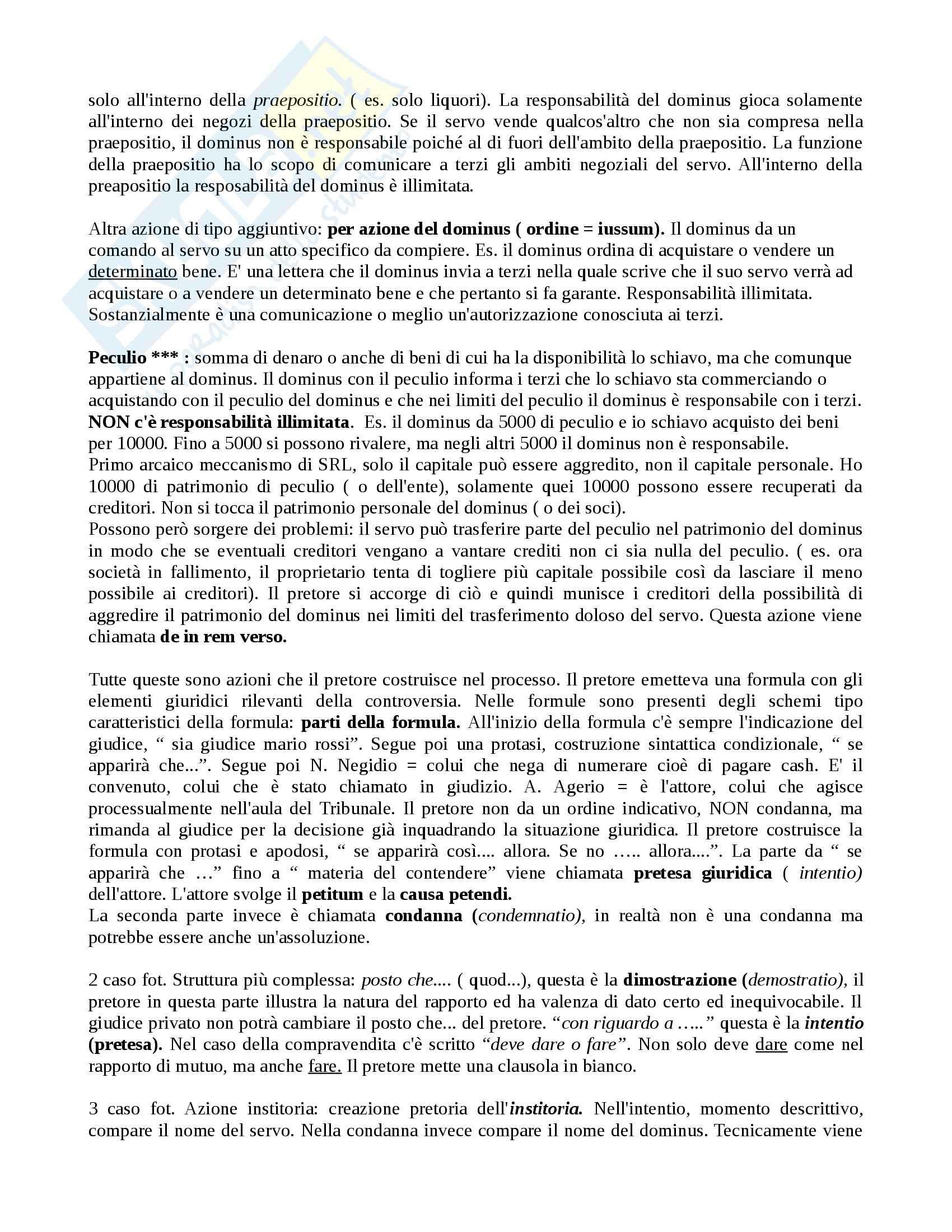 Istituzioni di diritto romano - nozioni e Appunti Pag. 11