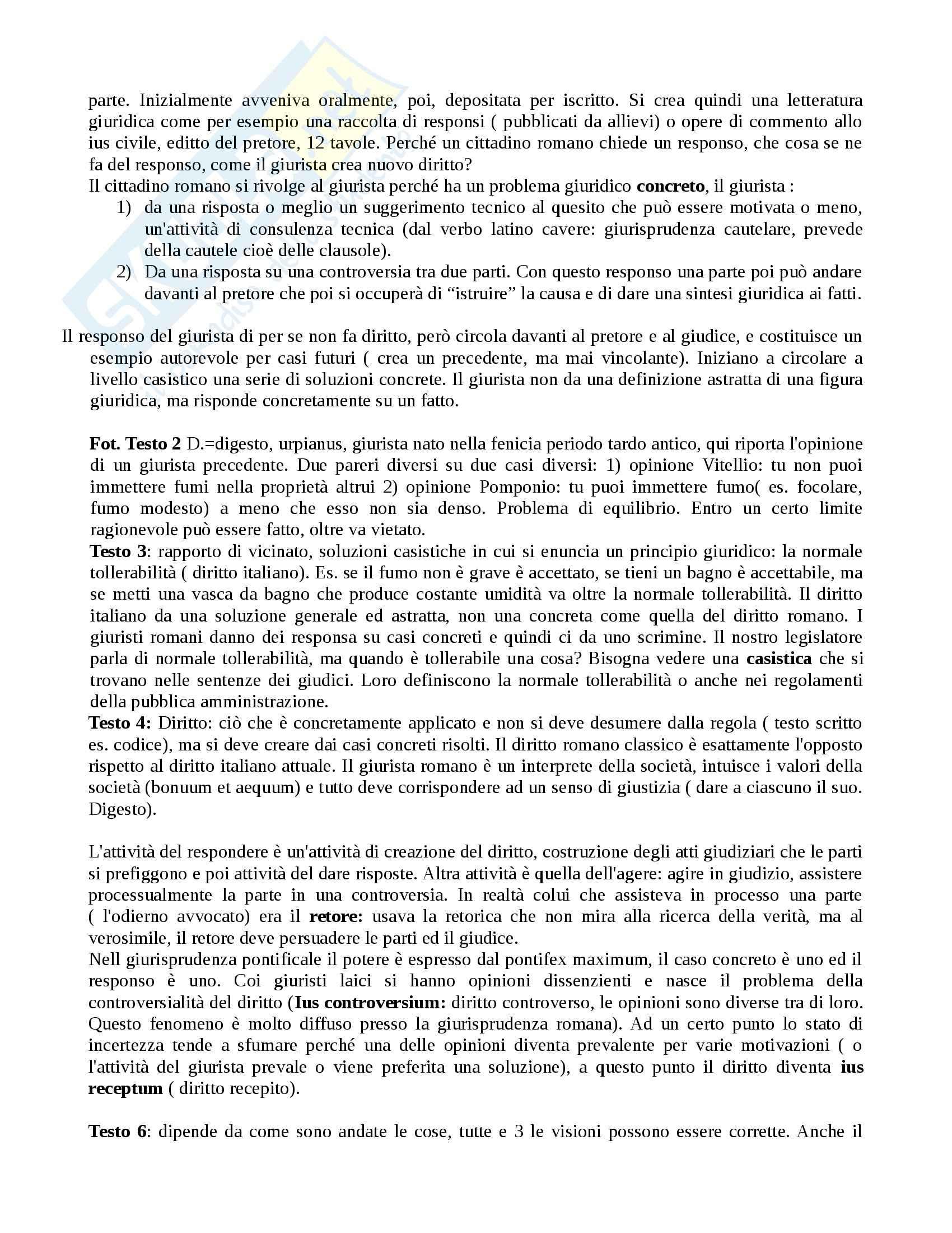 Istituzioni di diritto romano - nozioni e Appunti Pag. 6
