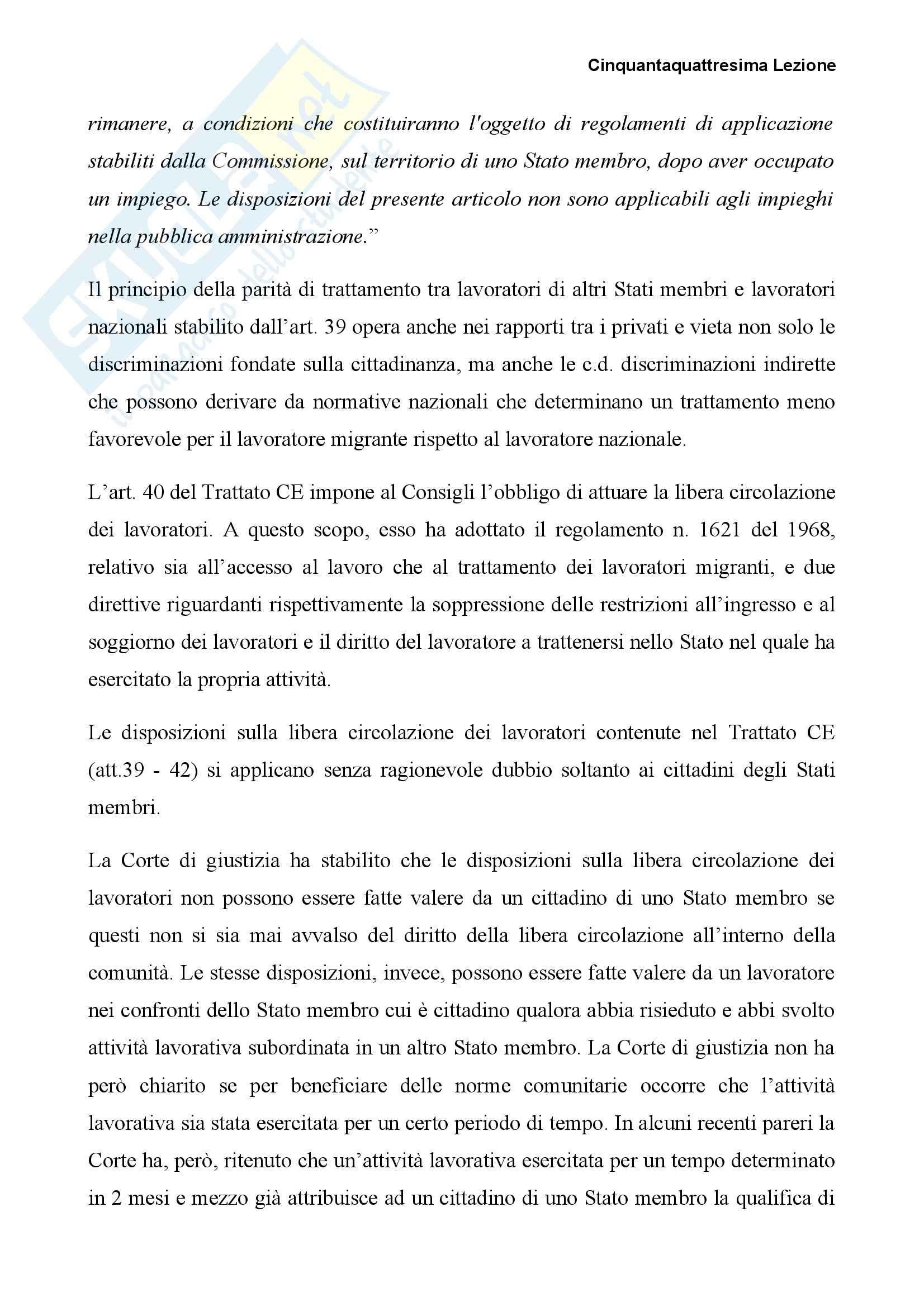 Diritto dell'Unione Europea - concetti principali Pag. 2