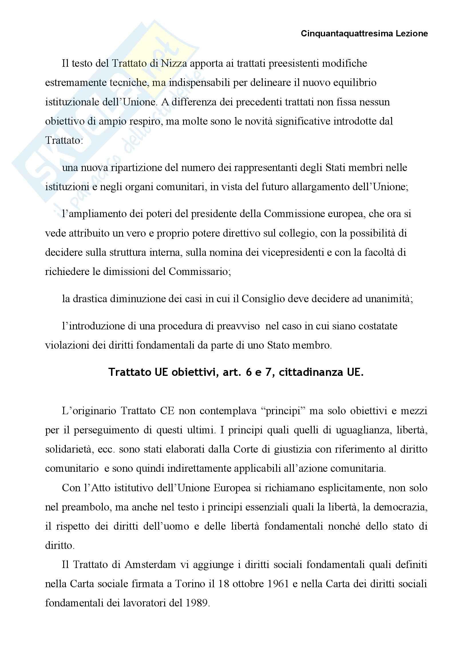 Diritto dell'Unione Europea - concetti principali Pag. 21