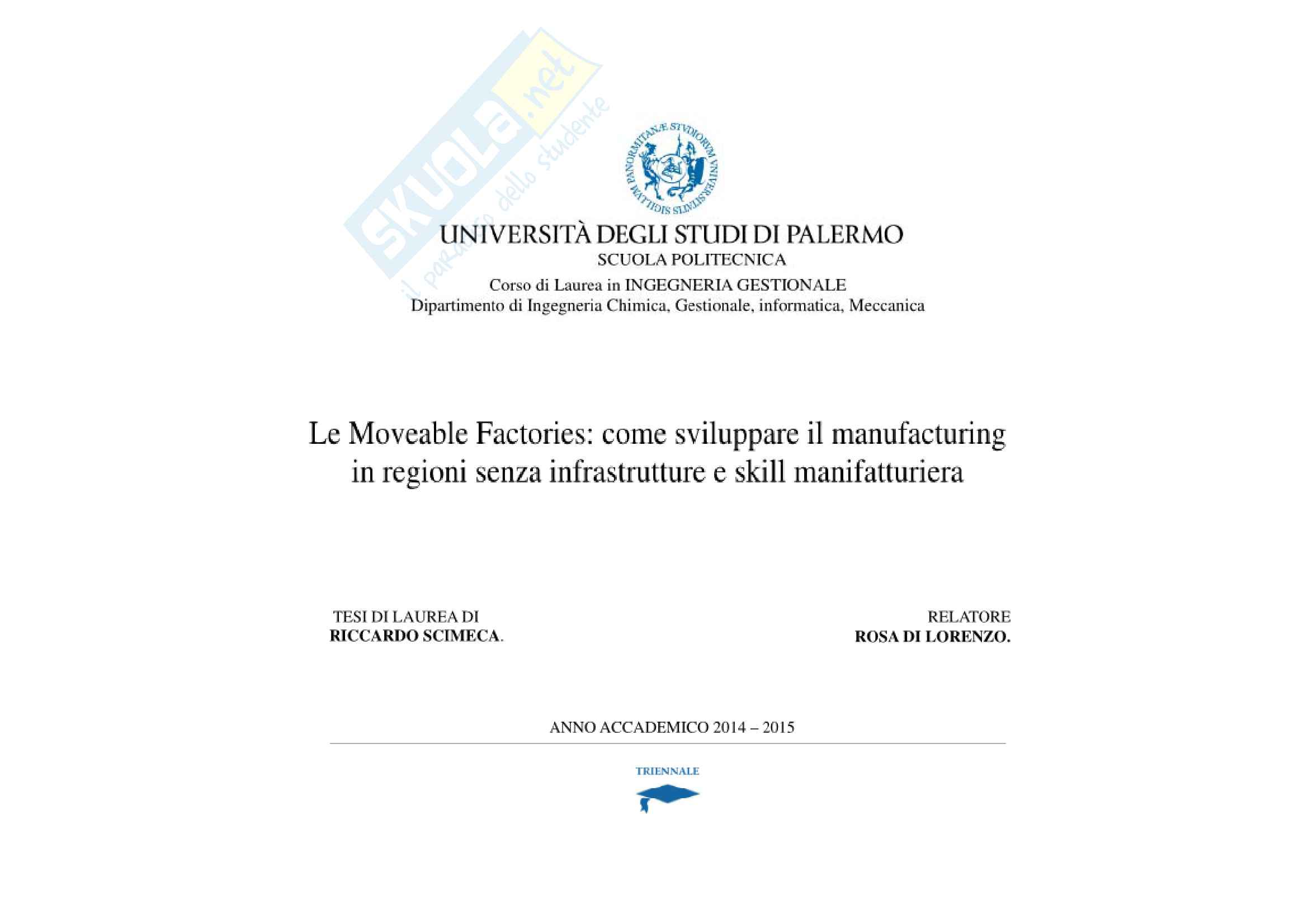 Presentazione tesi (Moveable factories)