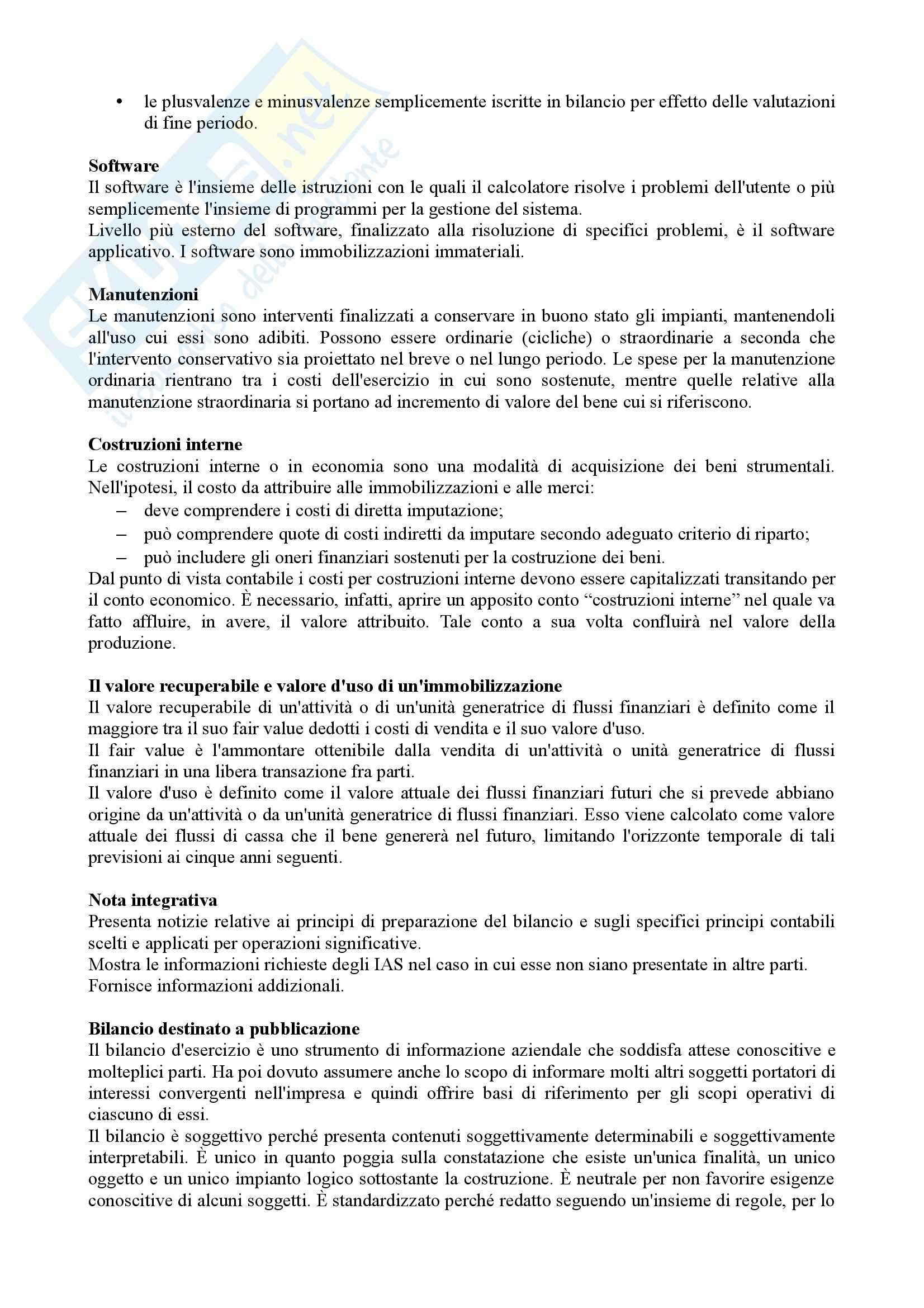 Ragioneria - definizioni Pag. 2