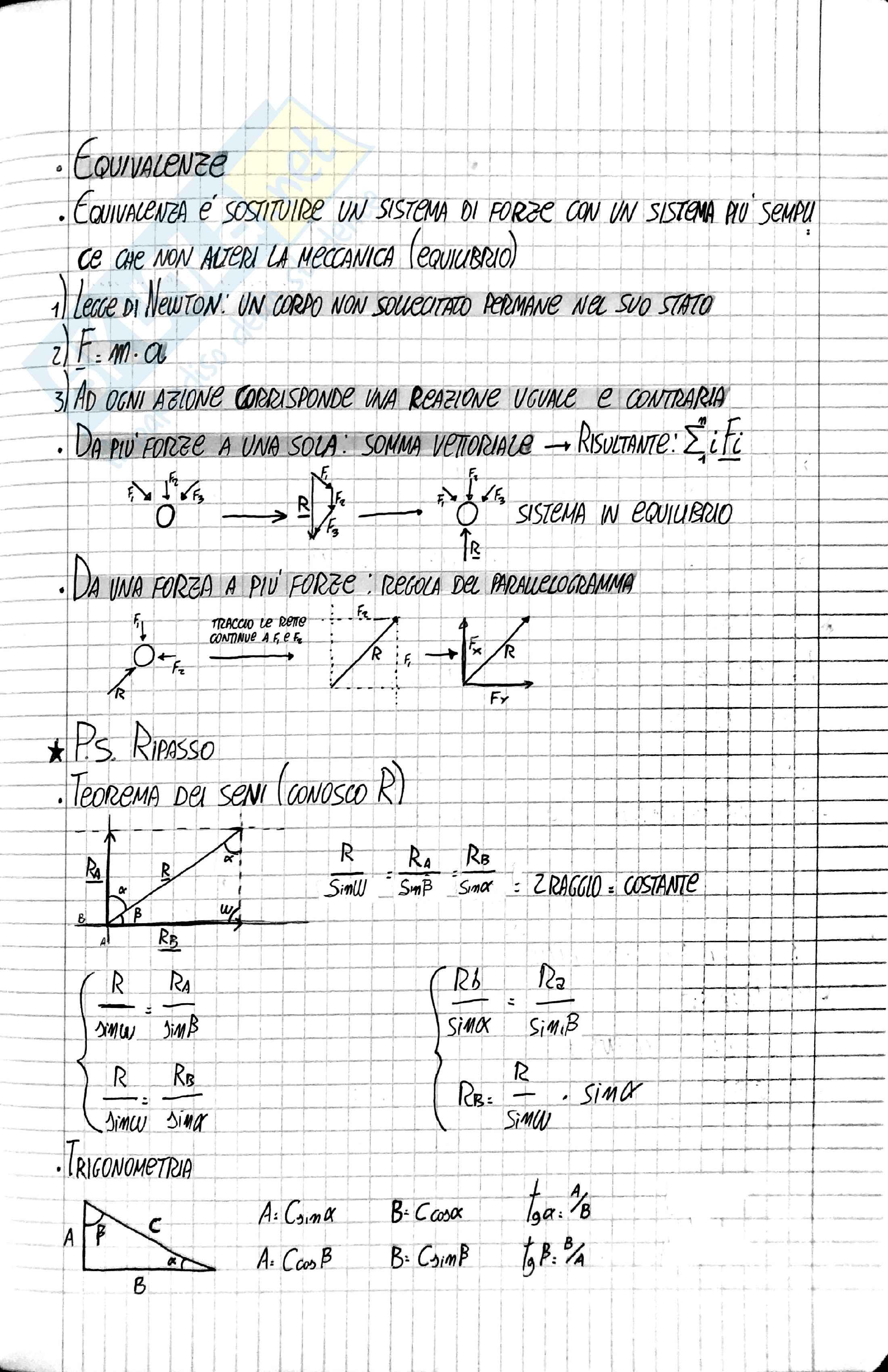 Statica - programma completo Pag. 2