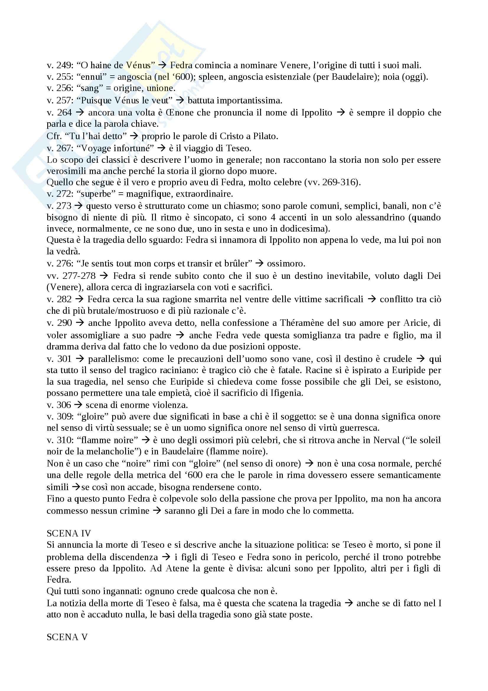 Drammaturgia Francese - Phèdre e altre opere Pag. 2