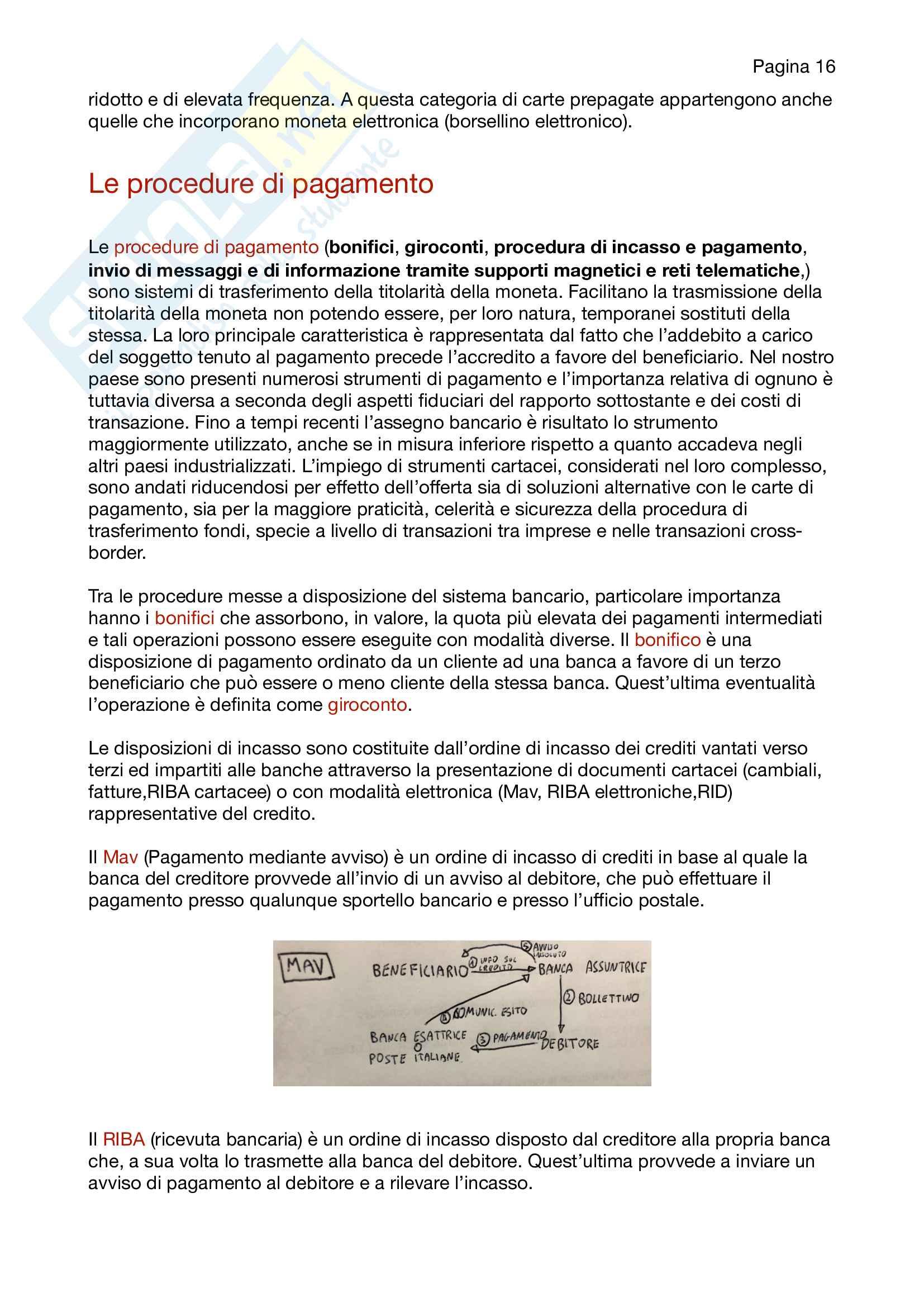 Appunti di economia degli intermediari finanziari Pag. 16