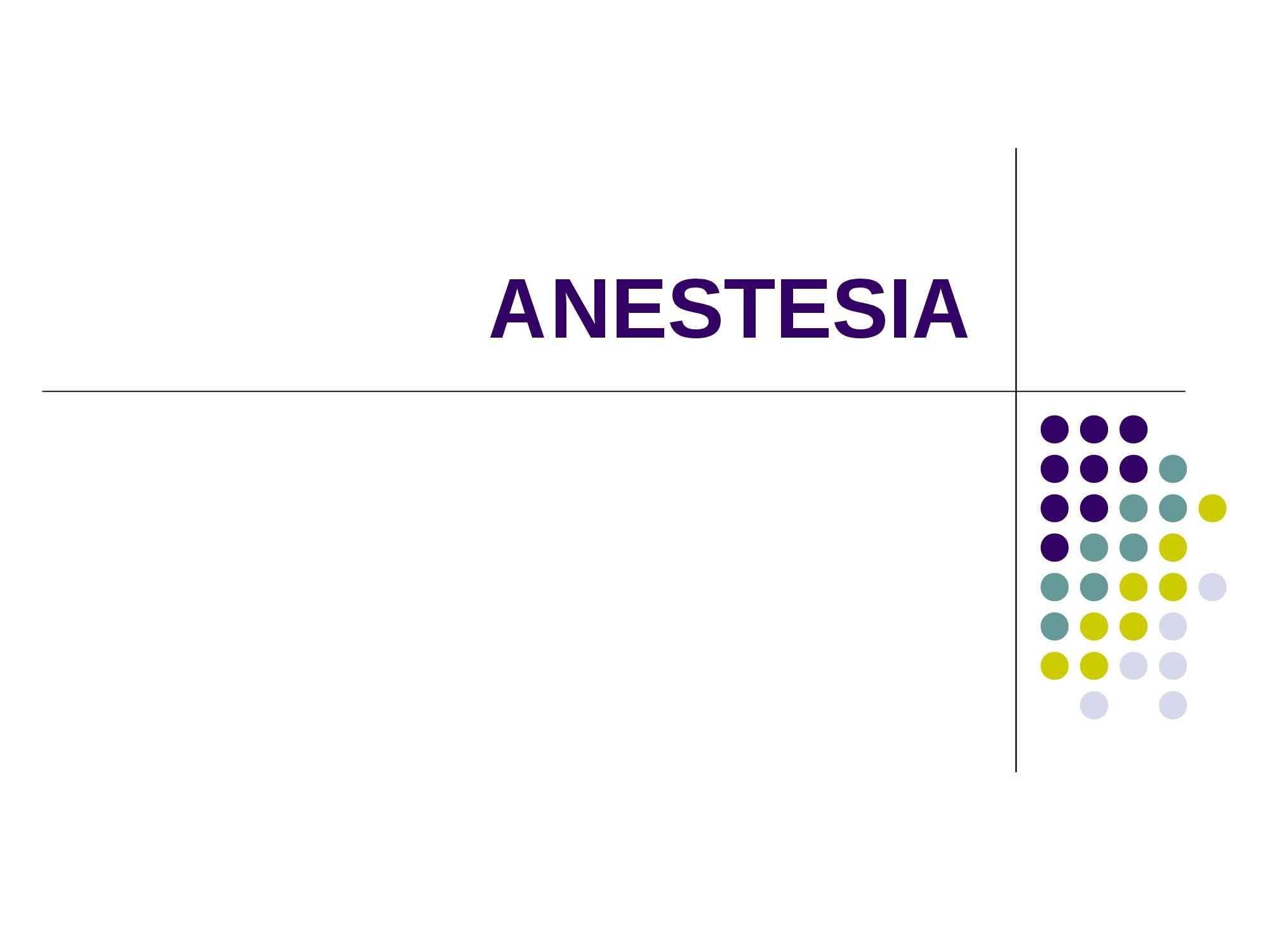 Anestesia - Prassi medica e farmaceutica