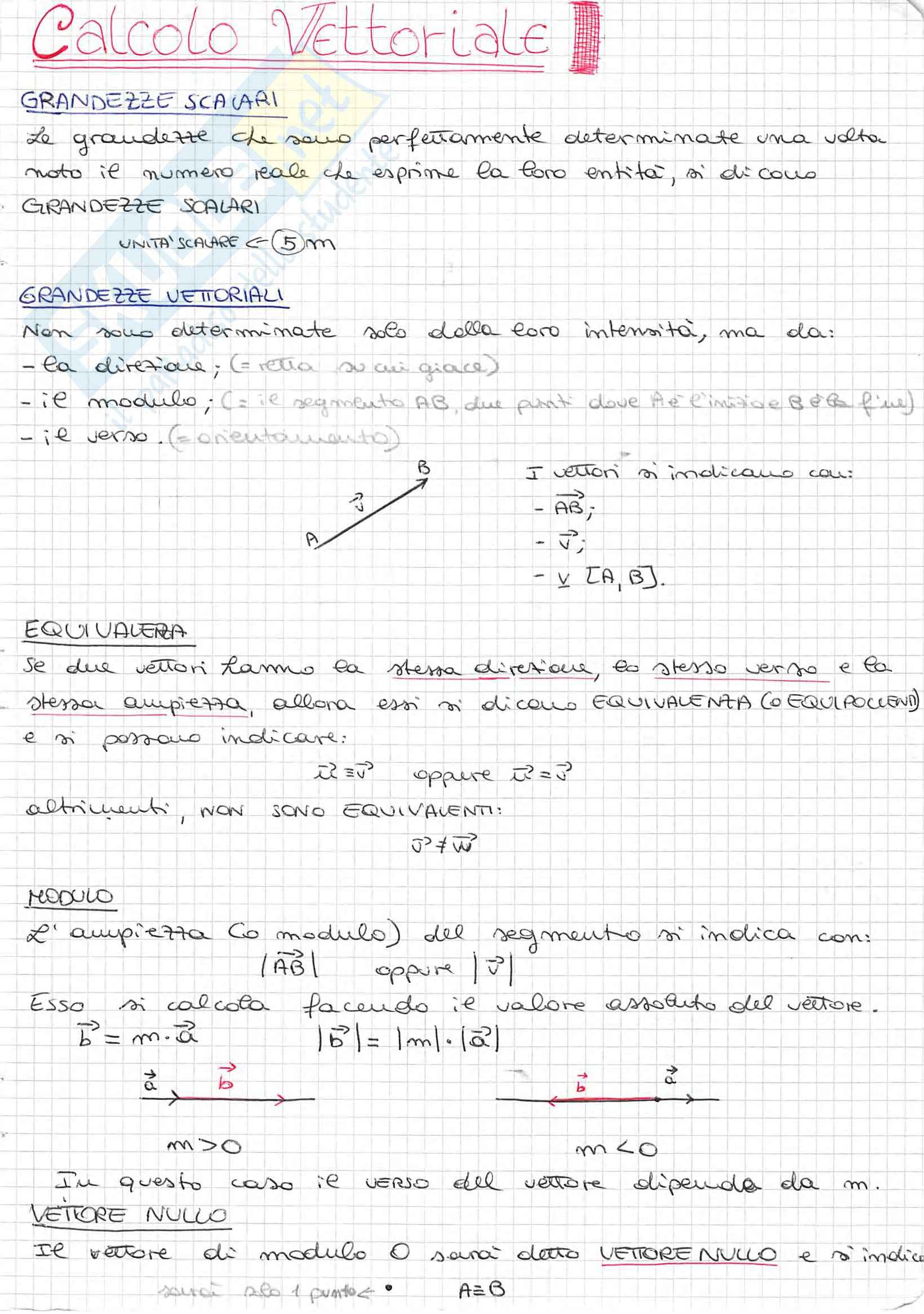 Appunti di Fisica Generale, Prof. Spitaleri, completo