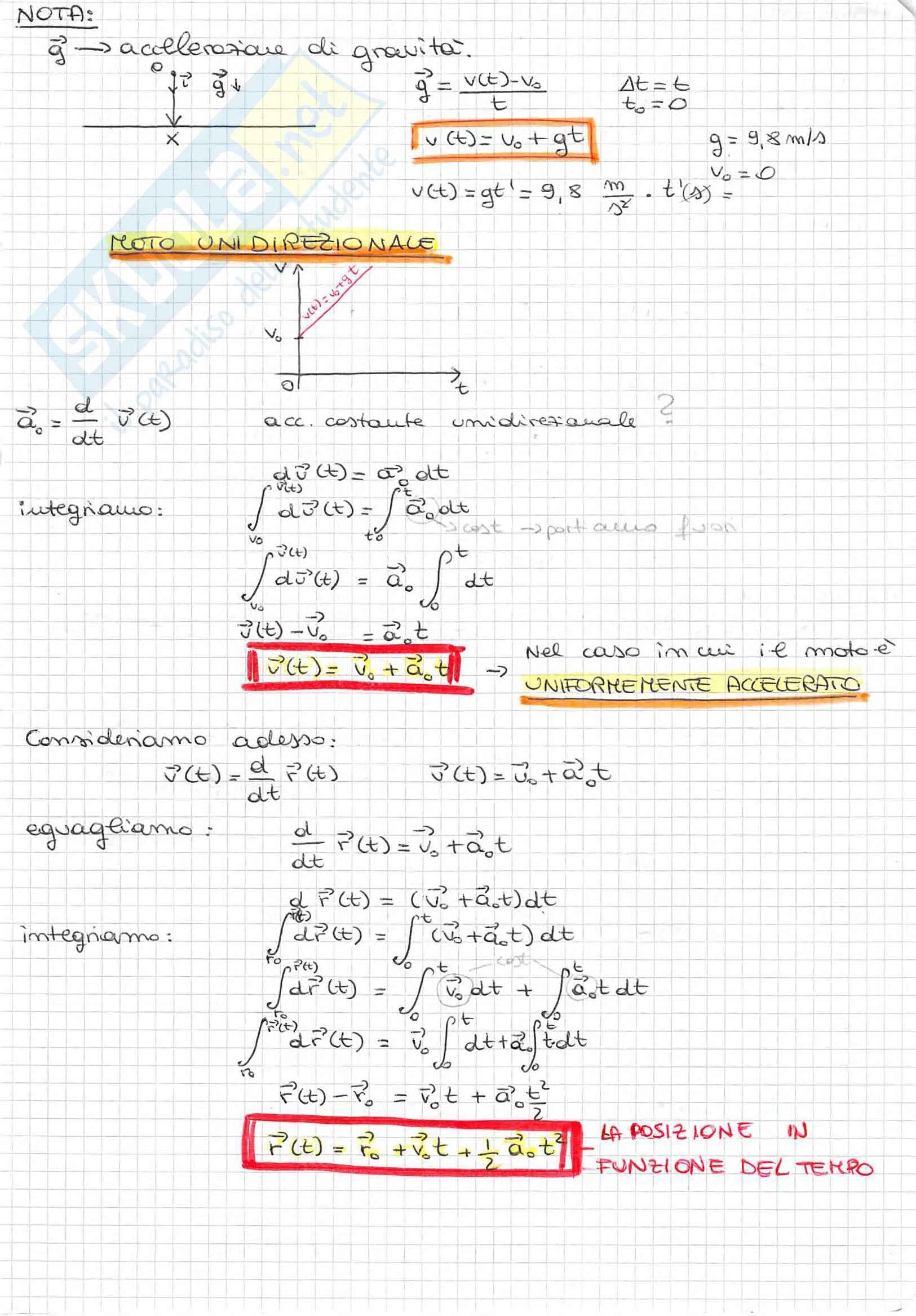 Appunti di Fisica Generale, Prof. Spitaleri, completo Pag. 11