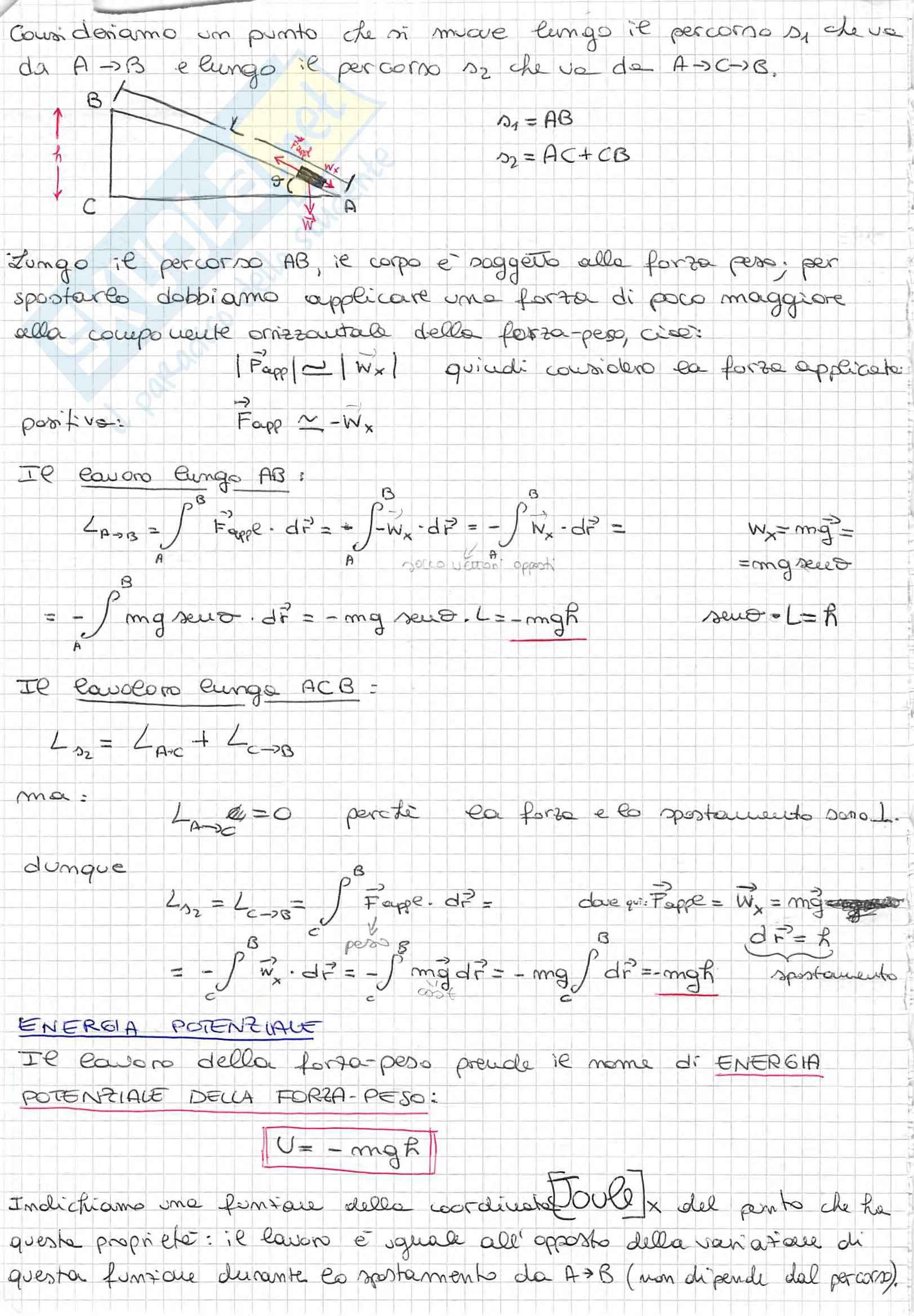 Appunti di Fisica Generale, Prof. Spitaleri, completo Pag. 41
