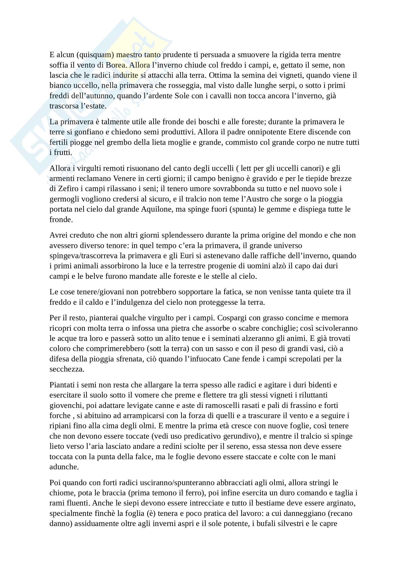 Traduzione libro II Georgiche Pag. 6