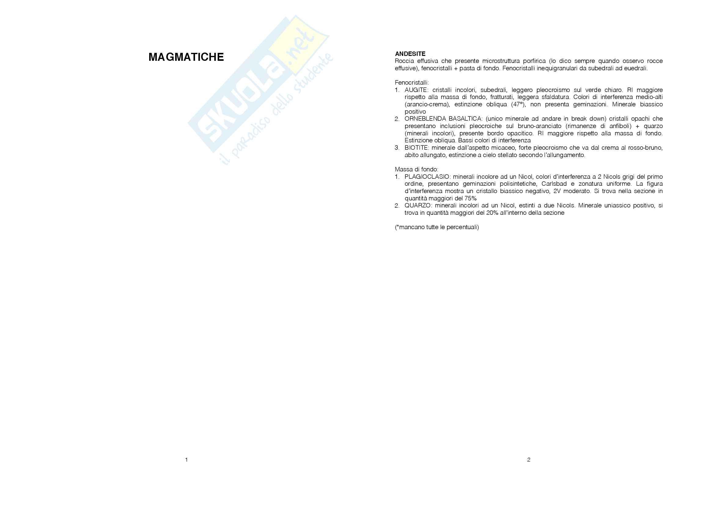 Descrizione Sezioni Sottili