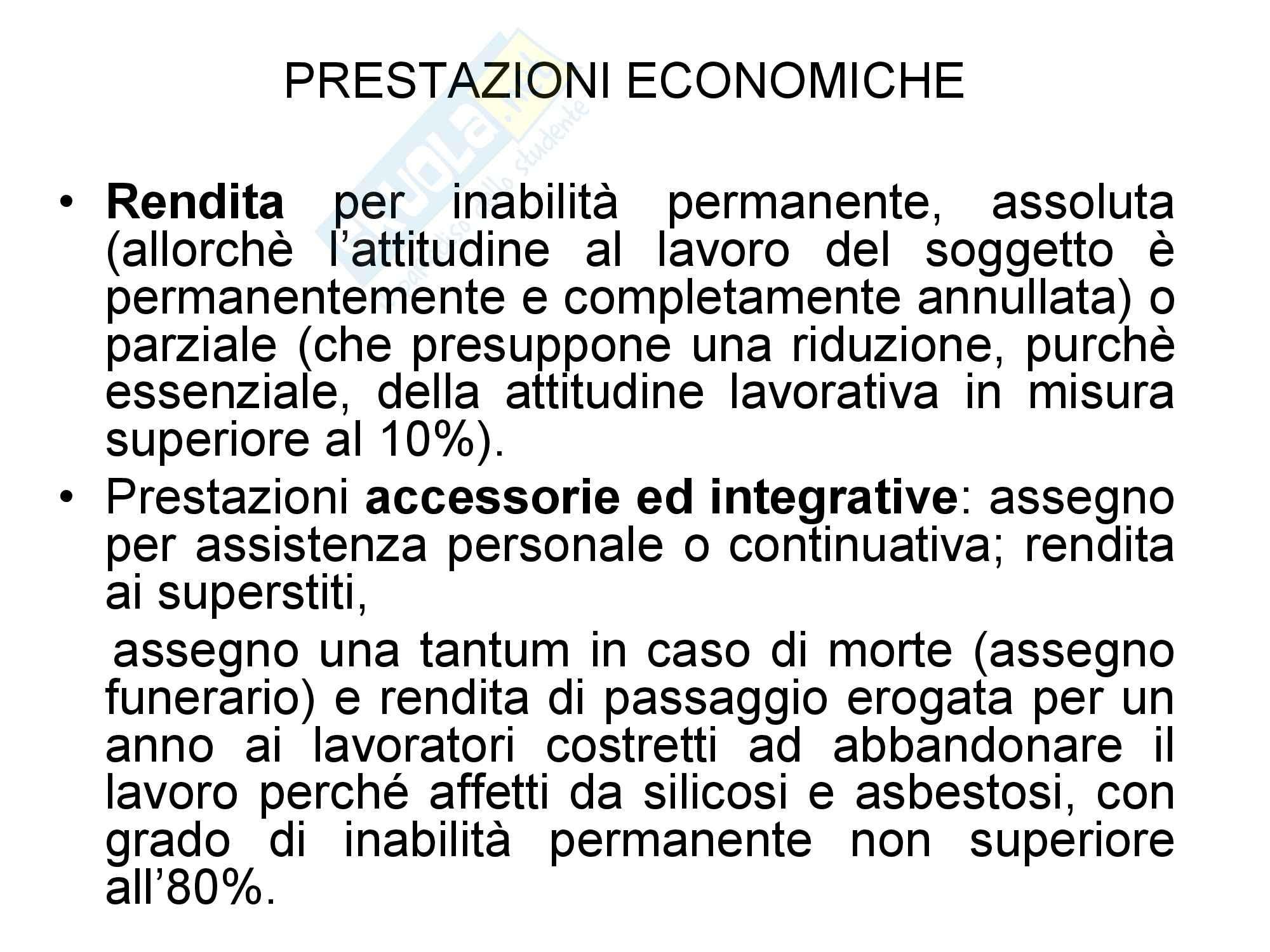 Diritto della previdenza sociale - Riassunto esame, prof. Battisti Pag. 46